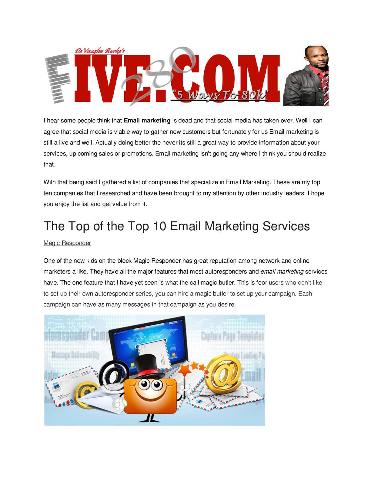 Calaméo - Top 10 Email Marketing Services