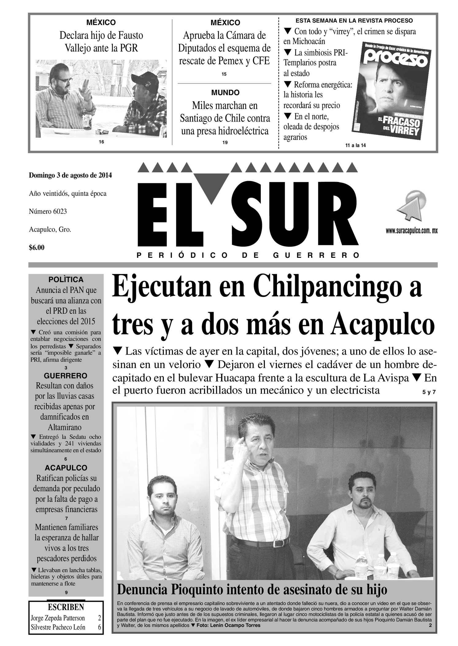 Calaméo - El Sur Domingo 03072014.pdf a1fdbcc469e