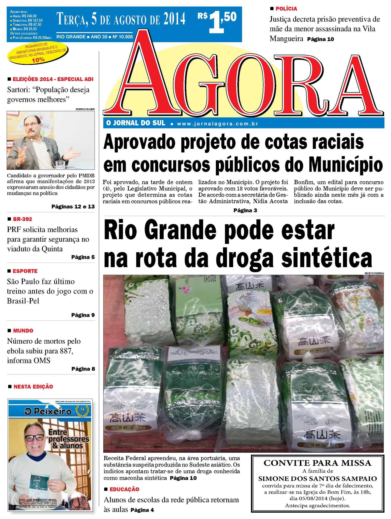 Calaméo - Jornal Agora - Edição 10908 - 5 de agosto de 2014 a6c4a96f0d