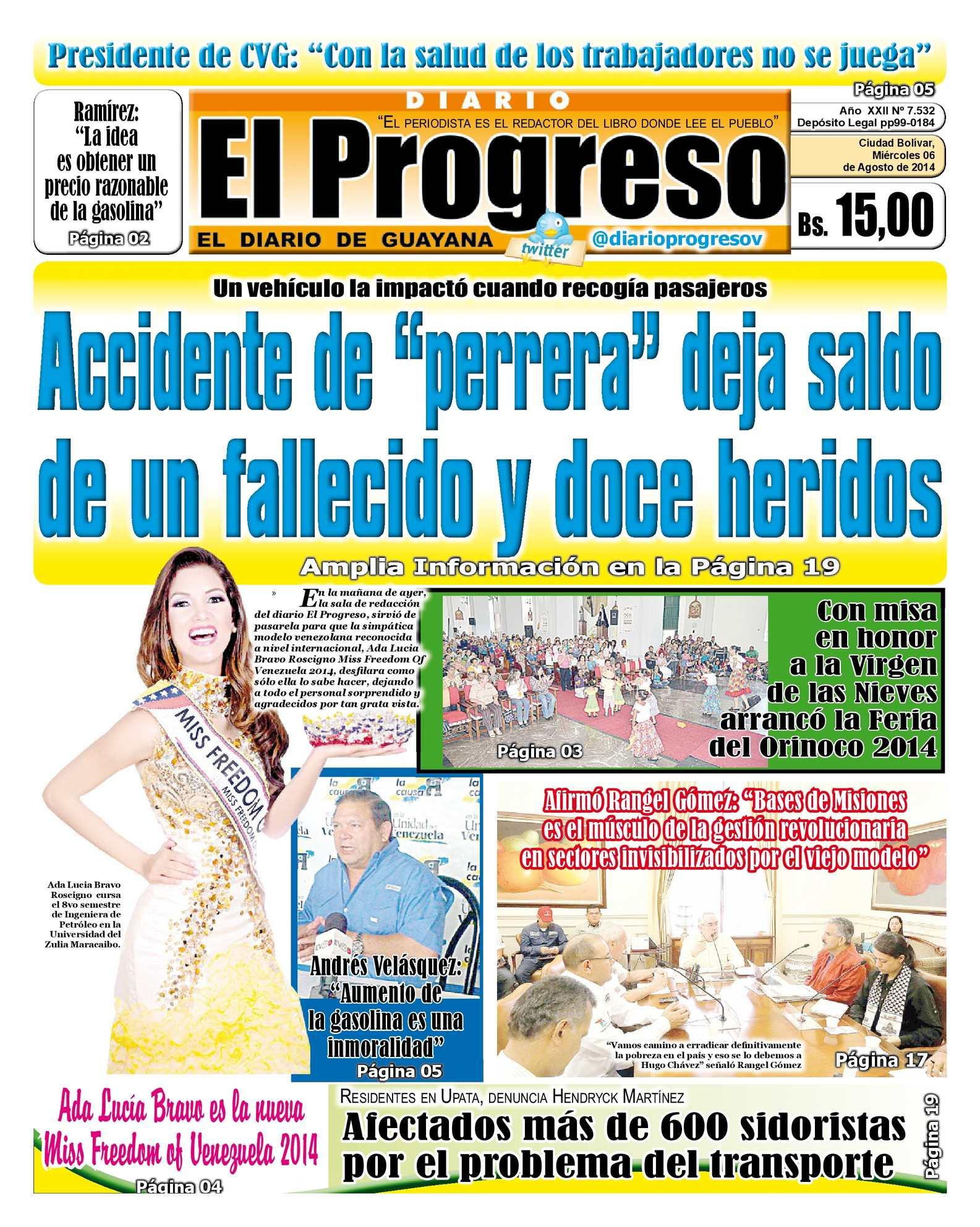 Calaméo - DIARIO EL PROGRESO EDICIÓN DIGITAL 06-08-2014 fbbe66d8187e