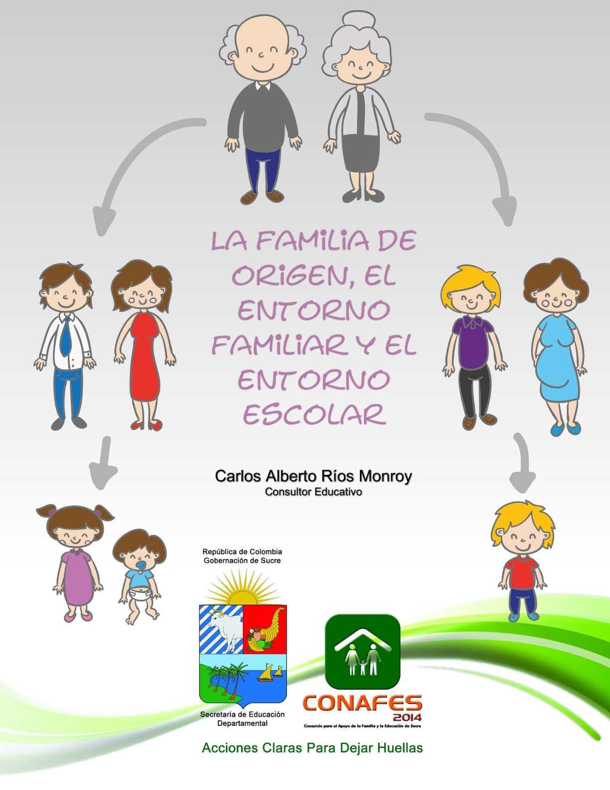 Calaméo - Módulo N° 2 - La familia de origen, el entorno familiar y el  entorno escolar