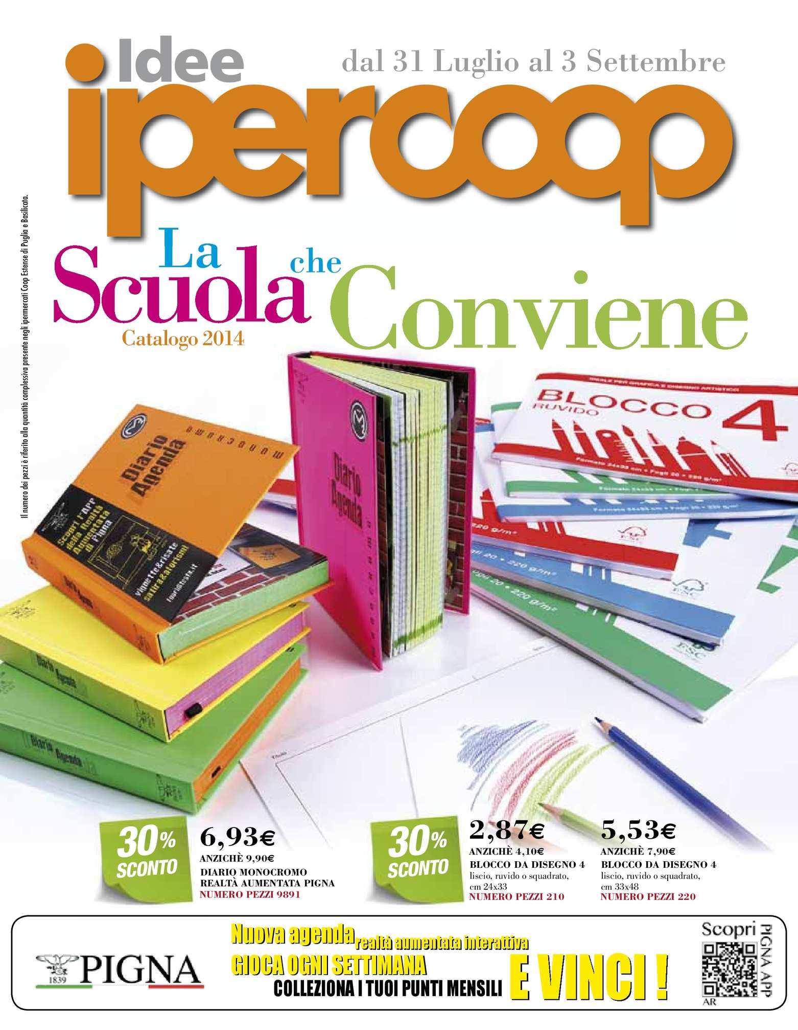 wholesale dealer 9860e 3370a Calaméo - Volantino Coop Basilicata e Puglia Scuola 31lug-3sett