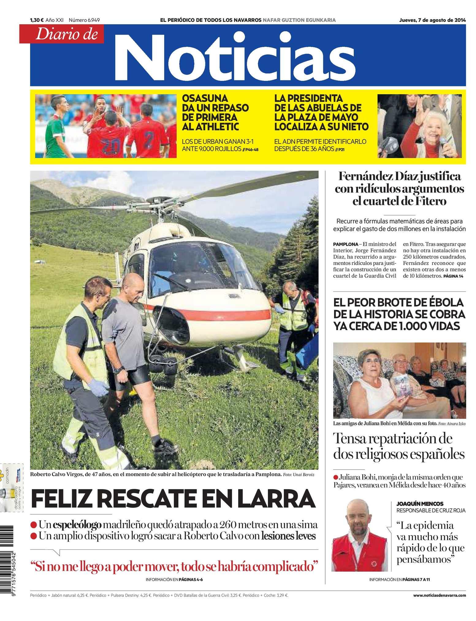 Calaméo - Diario de Noticias 20140807 e48ccdbe77d