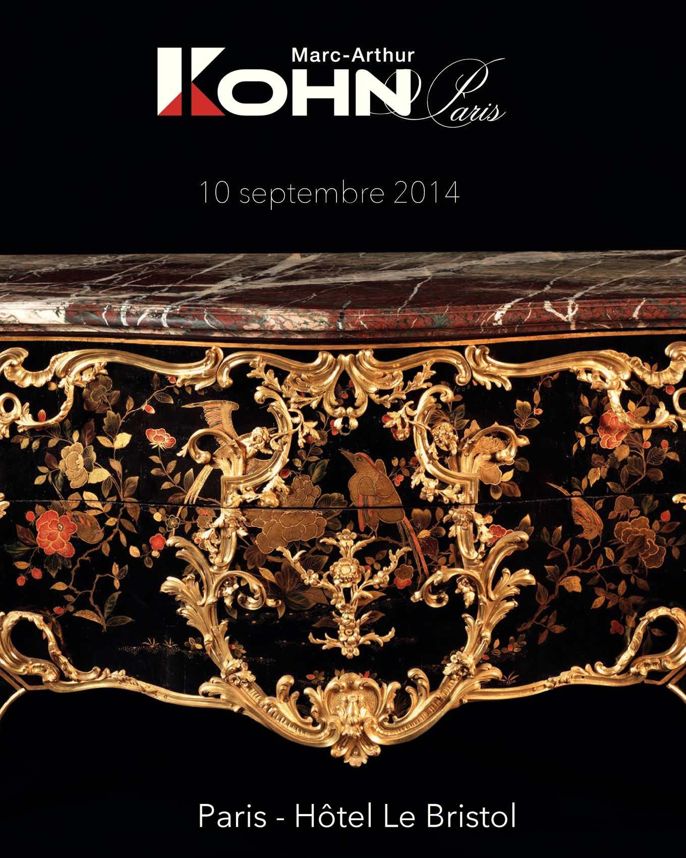 Calaméo - Marc-Arthur Kohn - 10 septembre 2014 - Mobilier et Objets d Art 0f36d883b5d