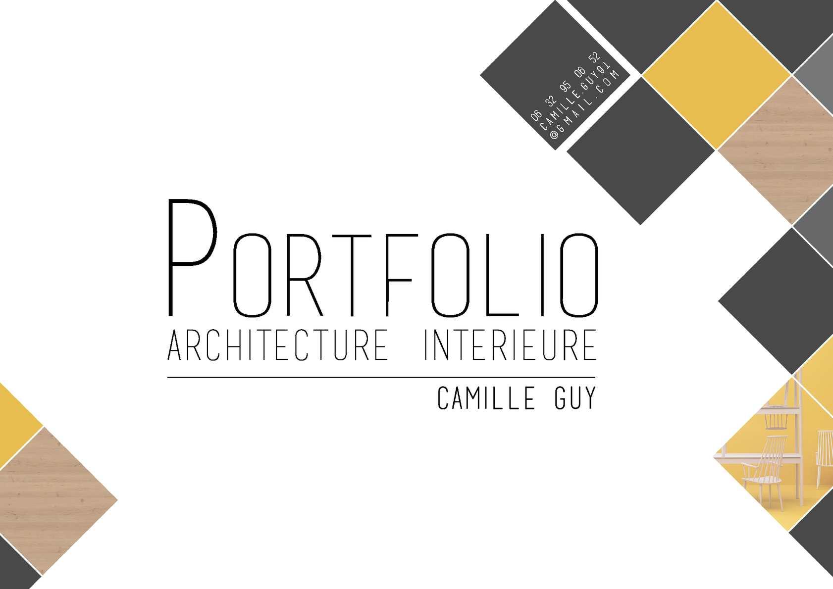 Book Architecte D Intérieur calaméo - portfolio camille guy - architecte d'intérieur