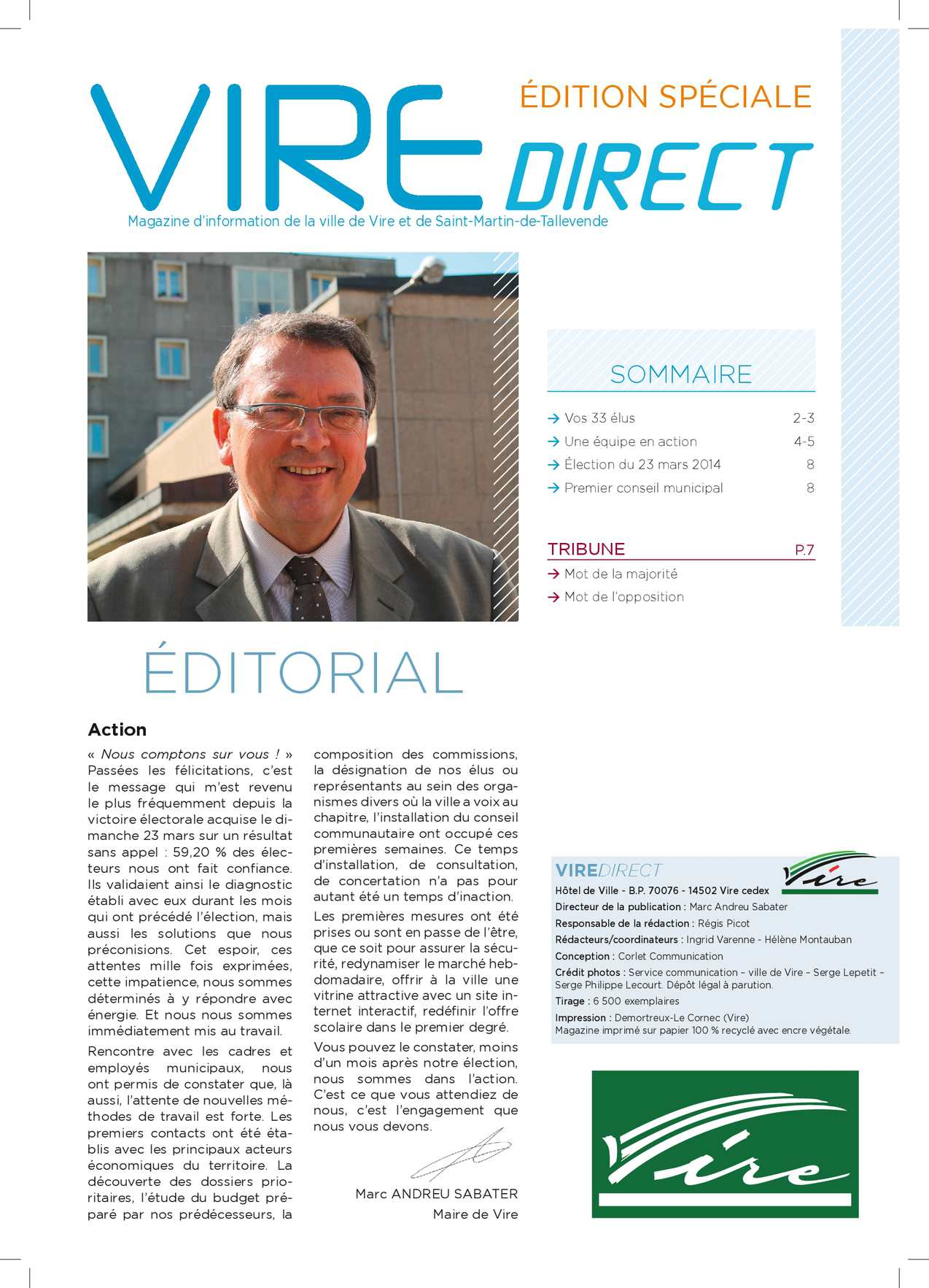 Vire Direct - avril 2014