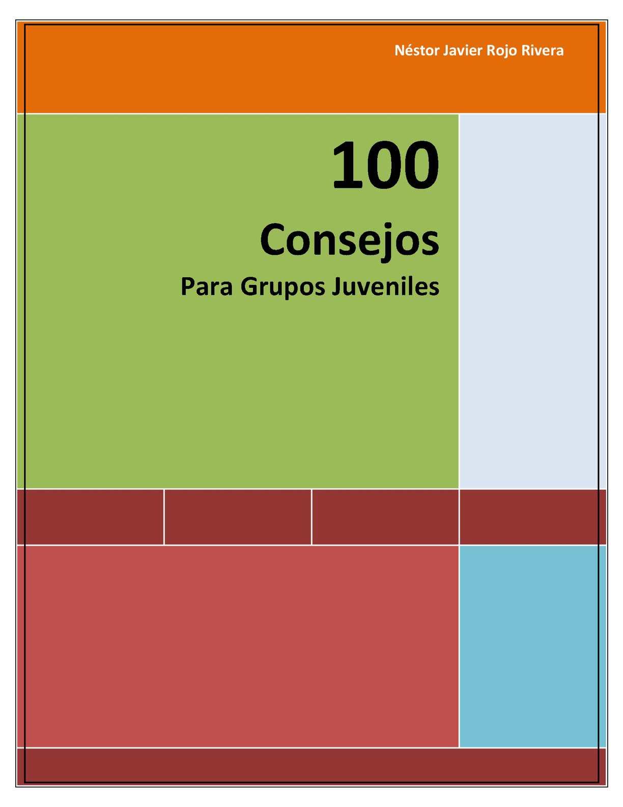 Calaméo 100 Consejos Para Grupos Juveniles
