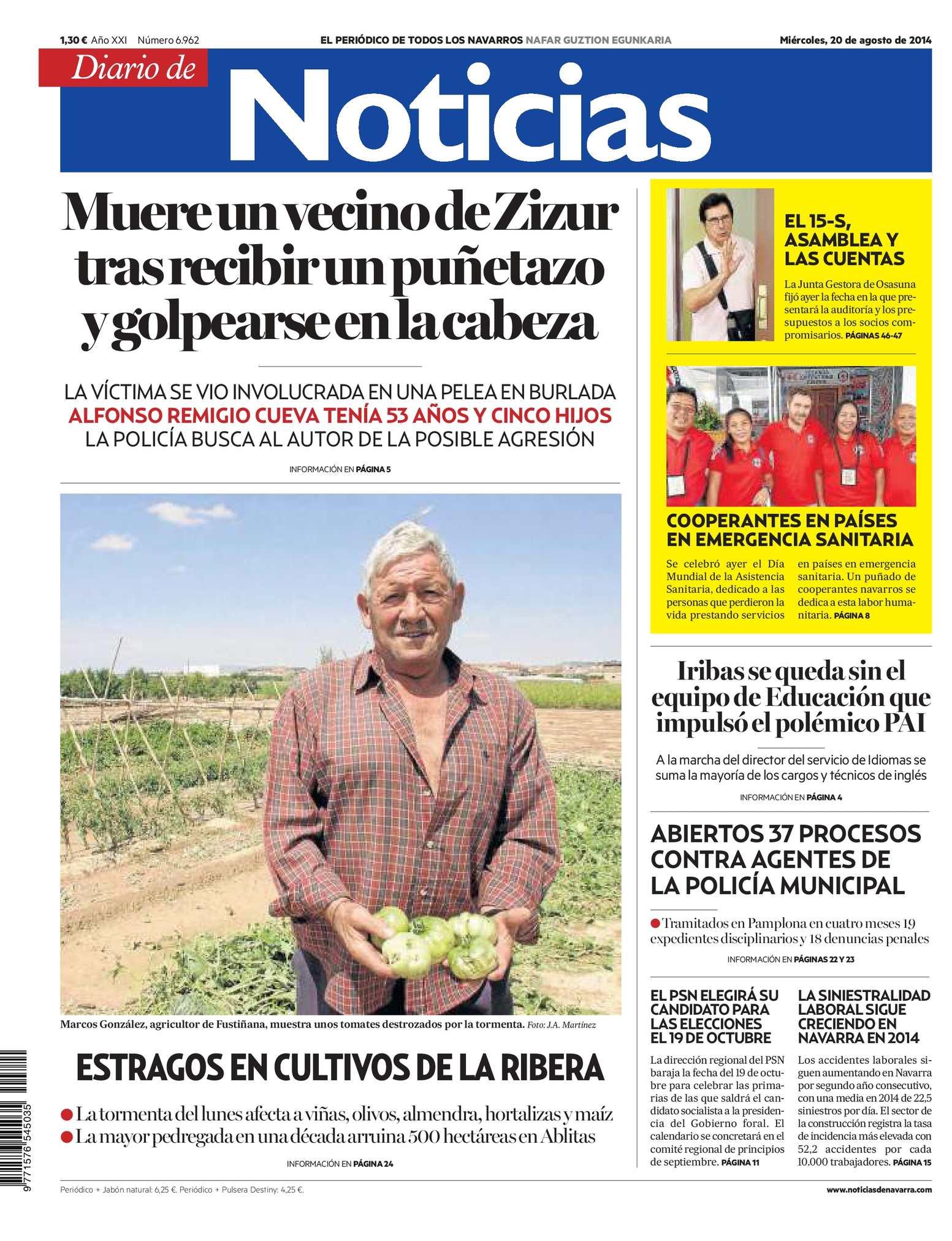 Calaméo Diario De Noticias 20140820