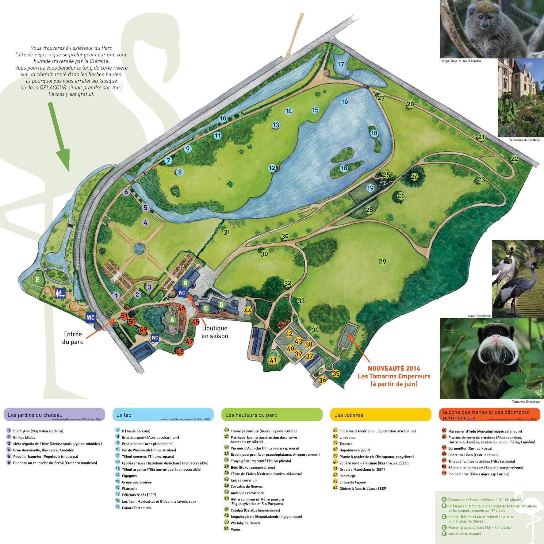Calaméo - Plan du Parc de Clères