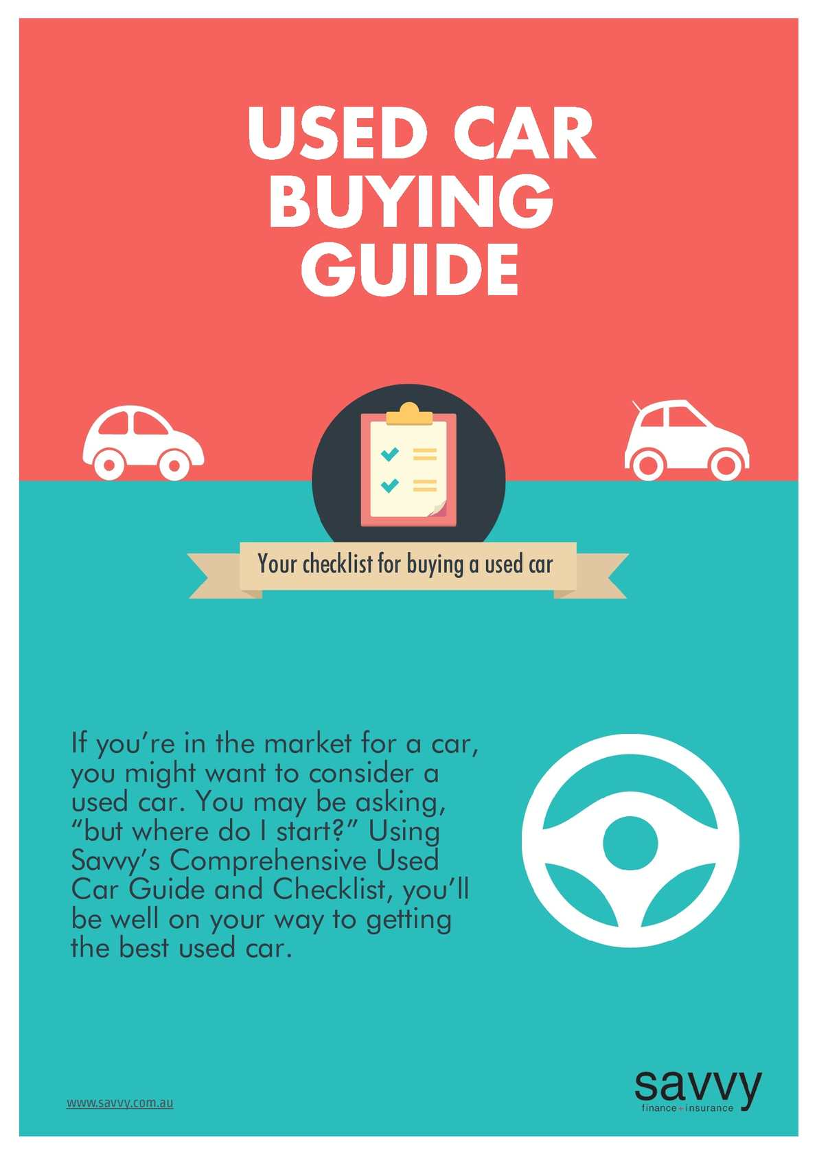 Used Car Buying Checklist >> Calameo Used Car Buying Guide Savvy