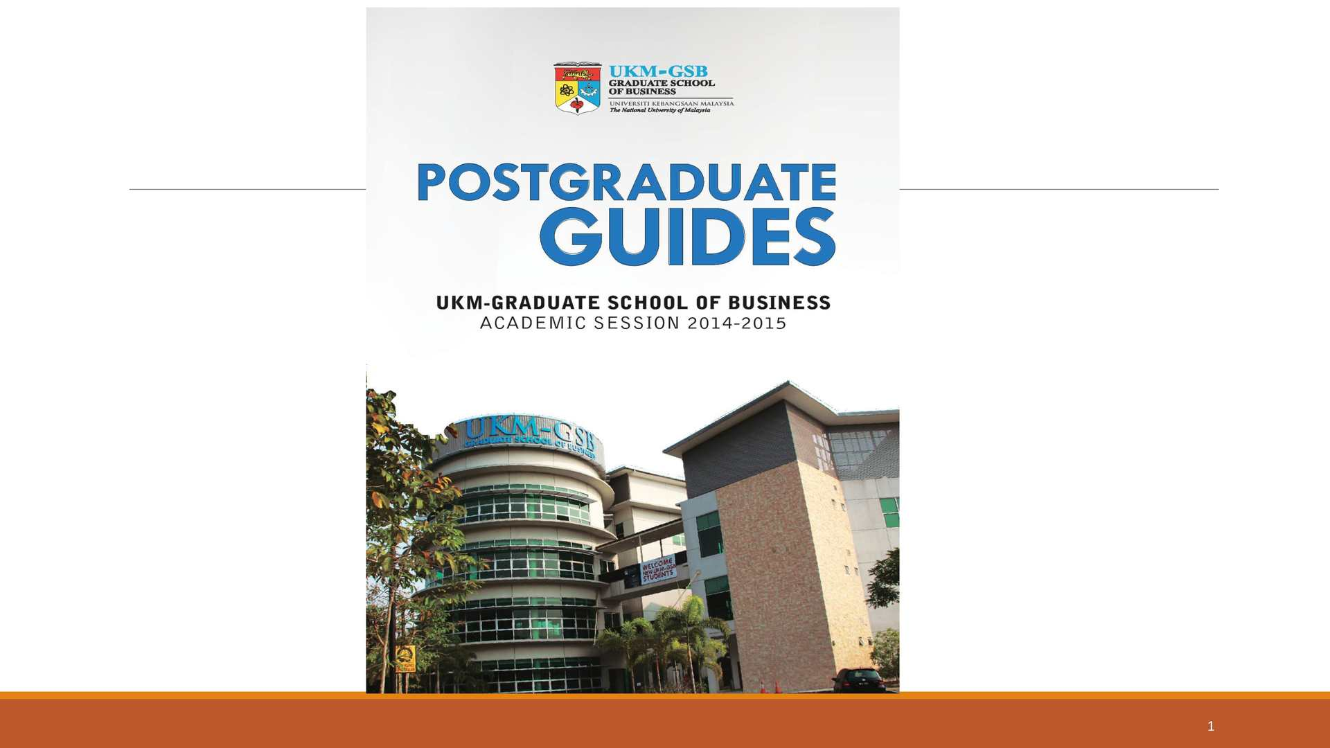 Postgraduate studies in coursework