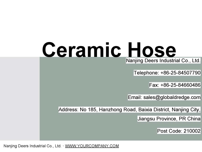 Calaméo - Ceramic Hose