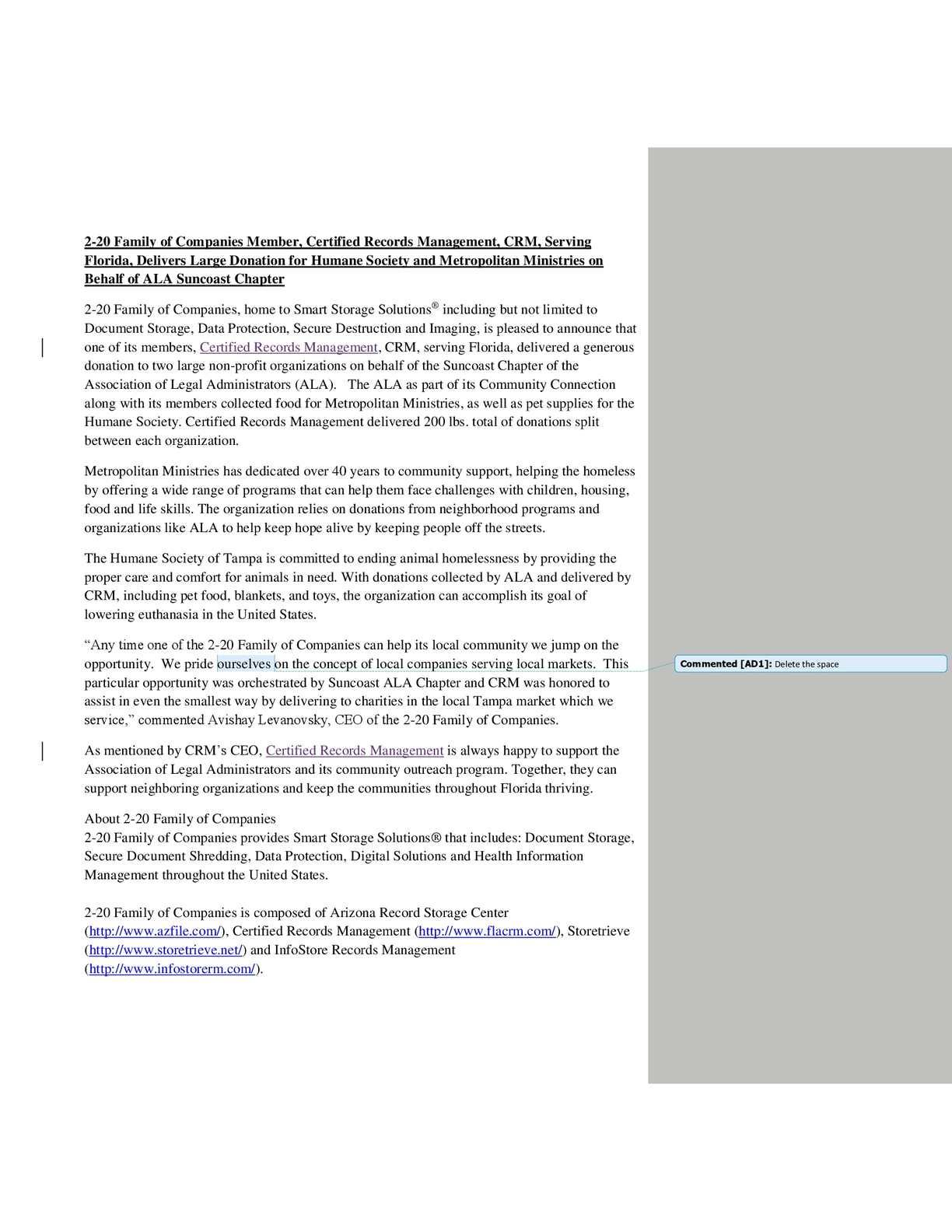 Calaméo - Certified Records Management