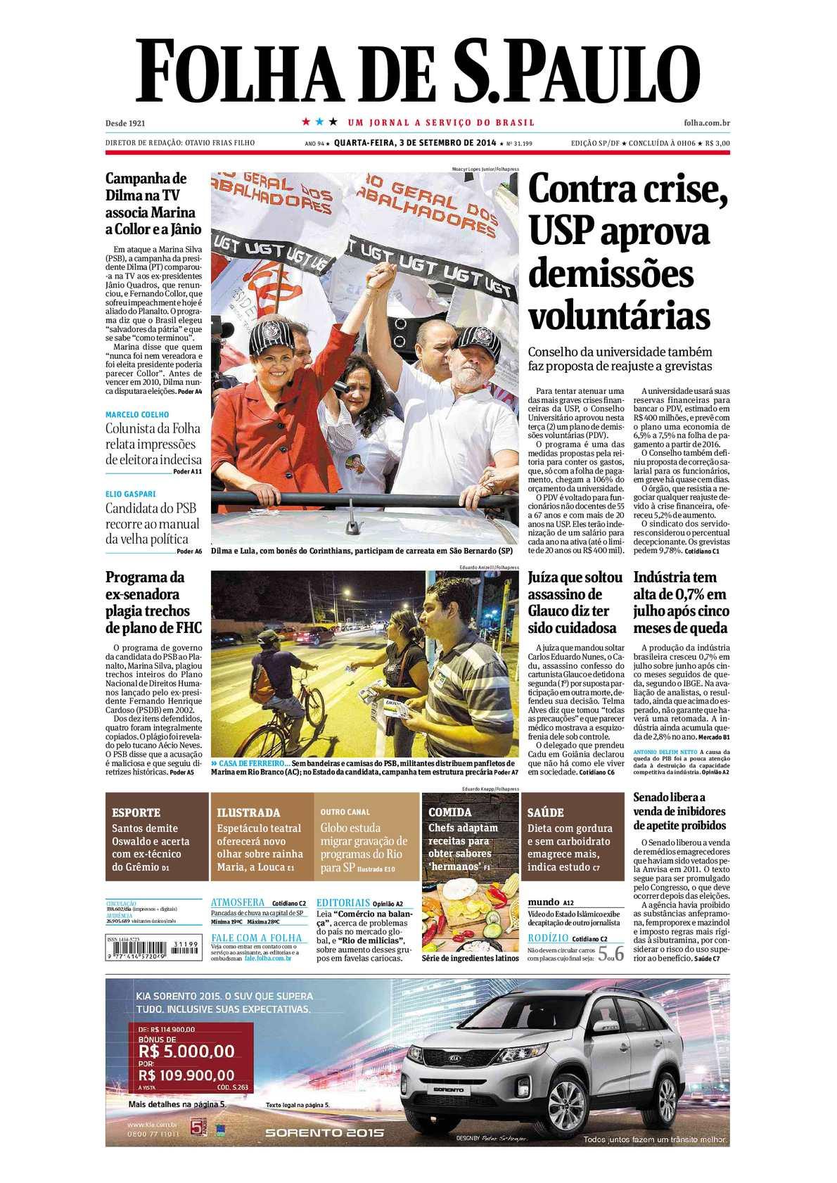 9c31c9335 Calaméo - Folha de São Paulo - 03 de Setembro de 2014