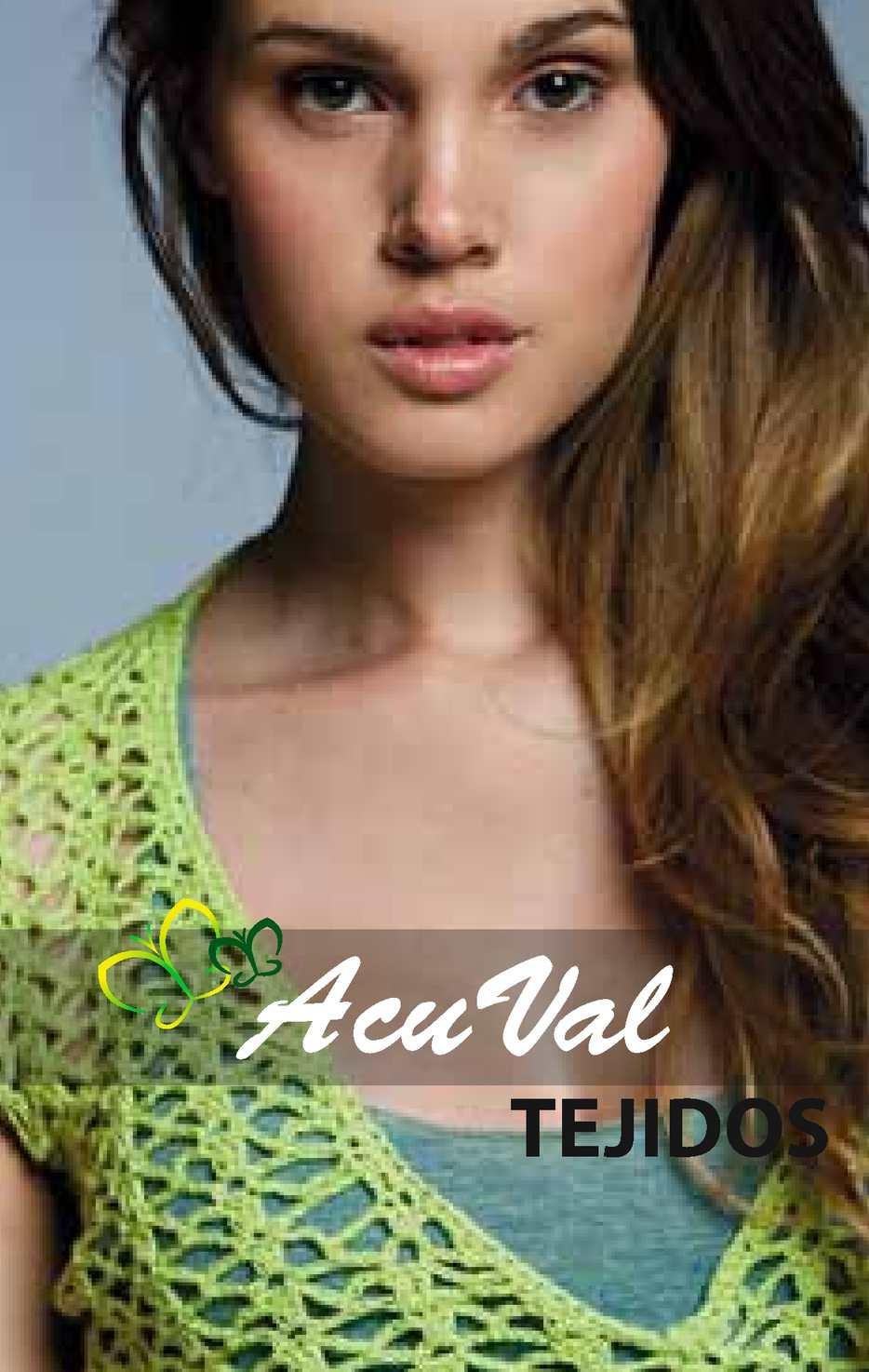 Catalogo AcuVal - Tejidos