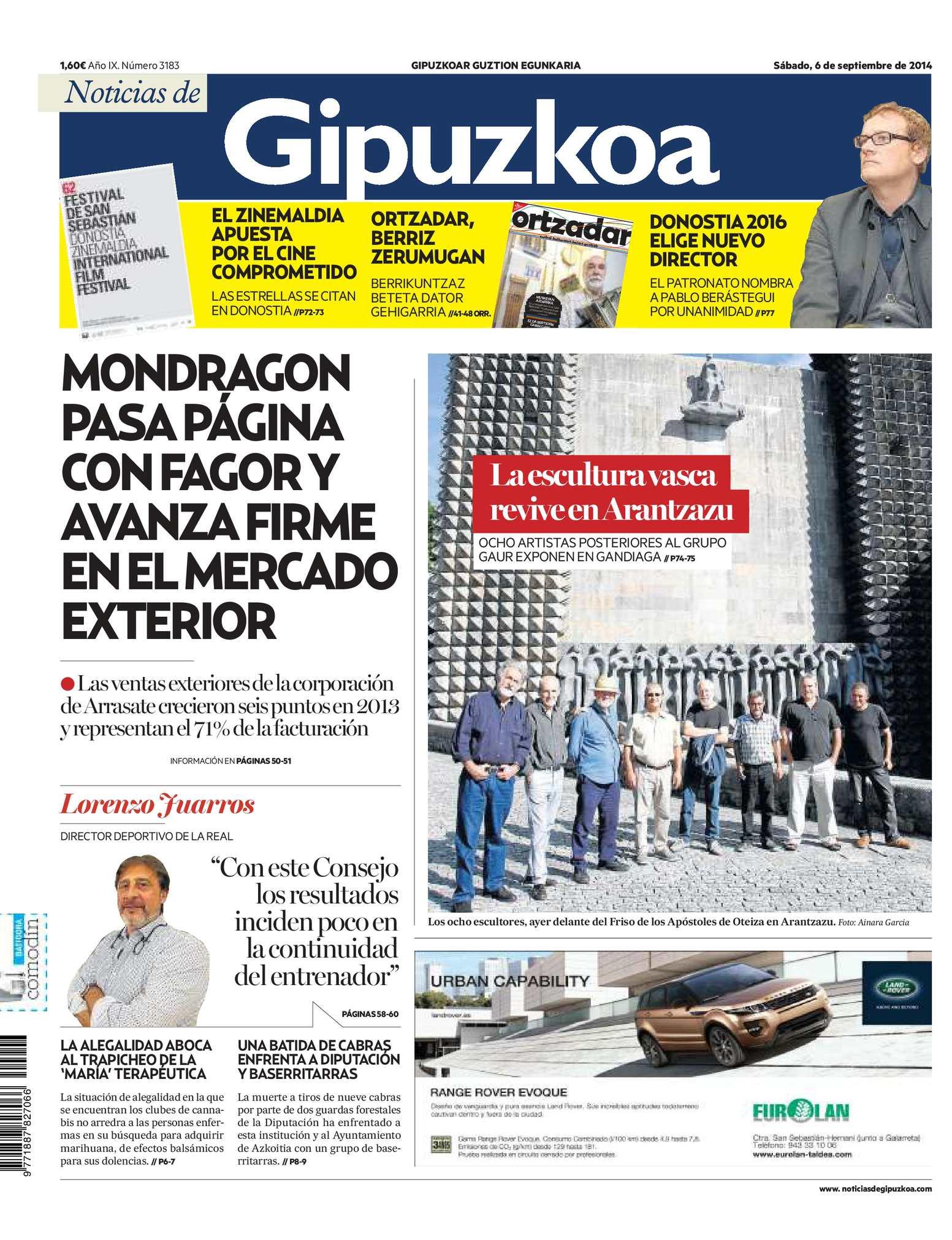 65f6e29f59 Calaméo - Noticias de Gipuzkoa 20140906