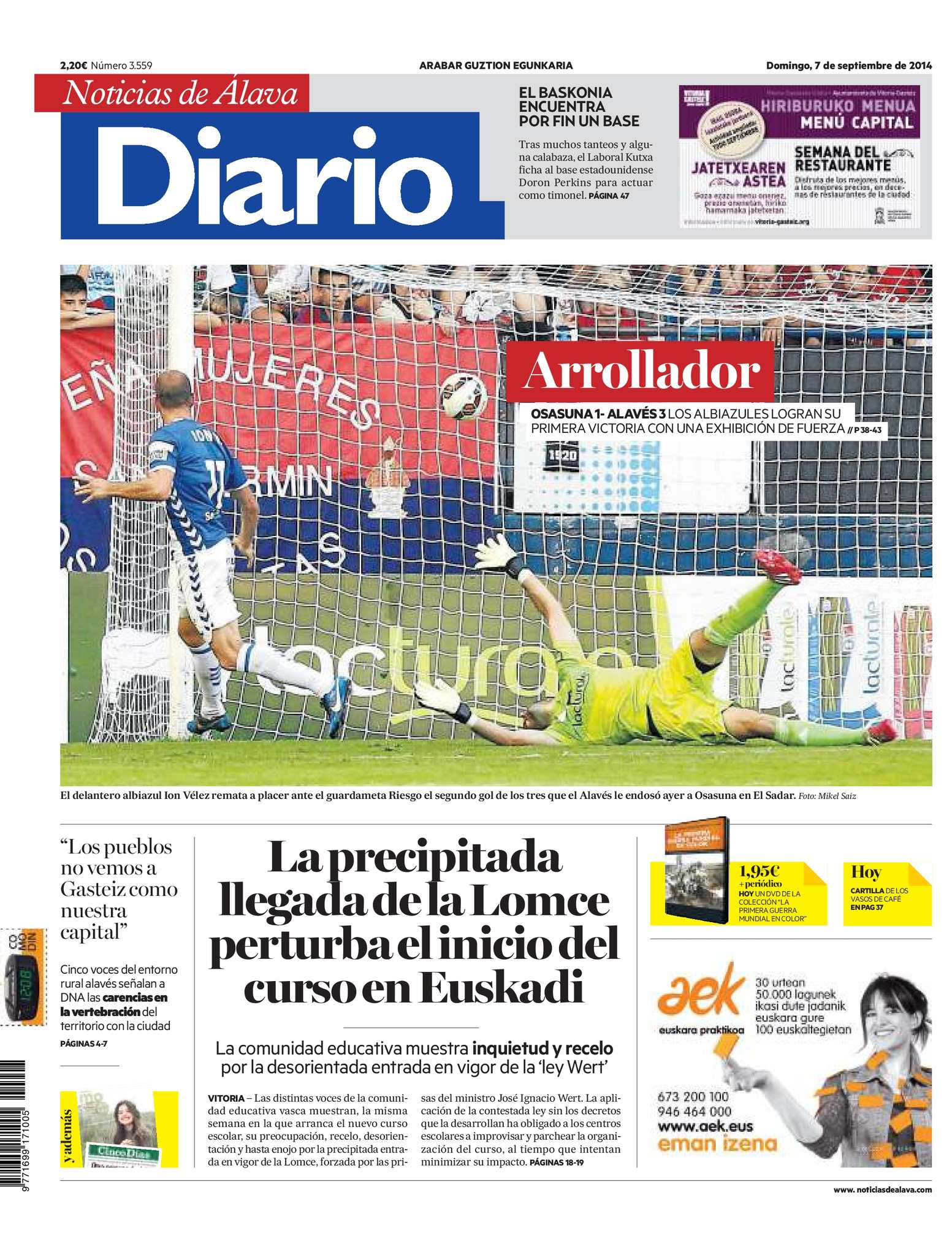 Calaméo - Diario de Noticias de Álava 20140907 c6035d4623f