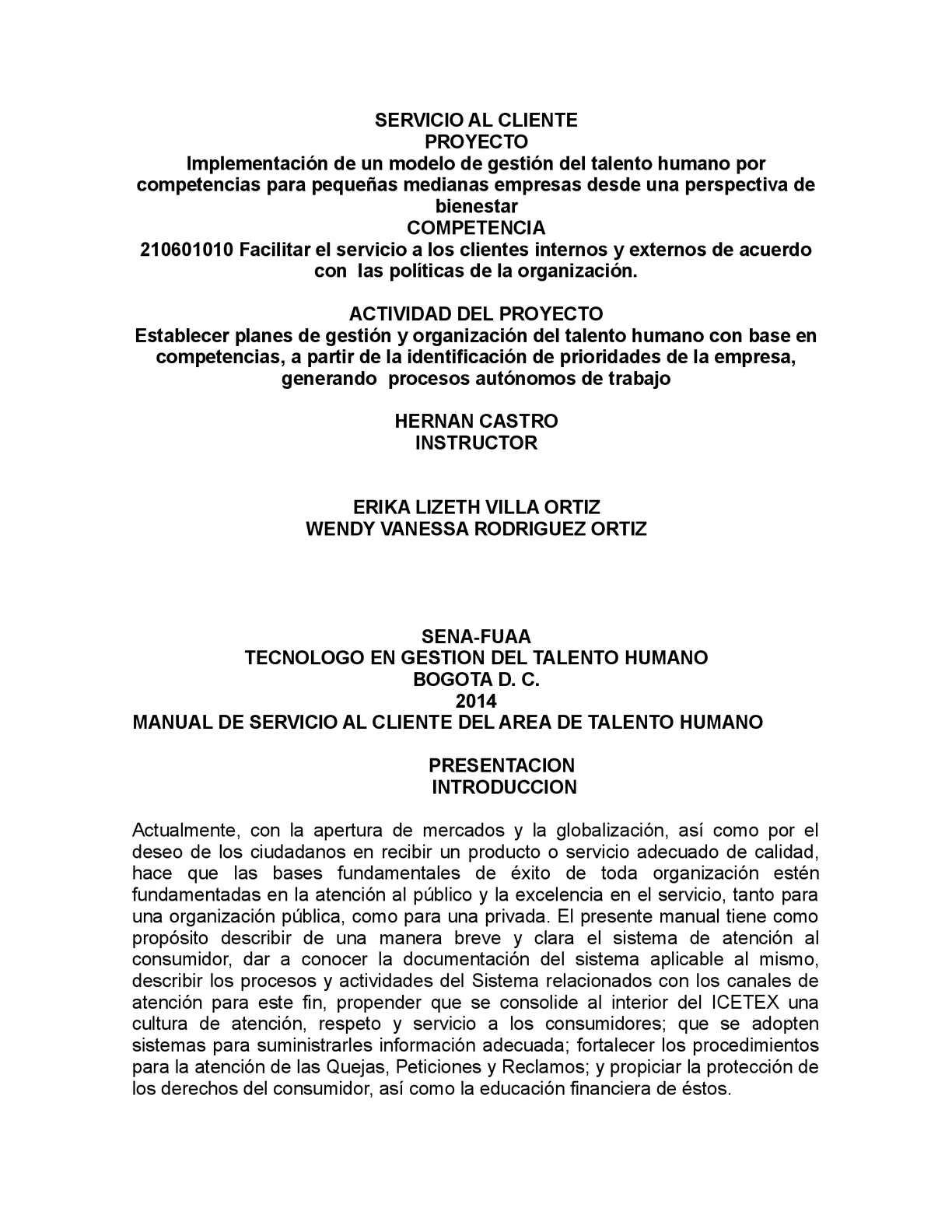 MANUAL DE SERVICIO AL CLIENTE EPUB DOWNLOAD