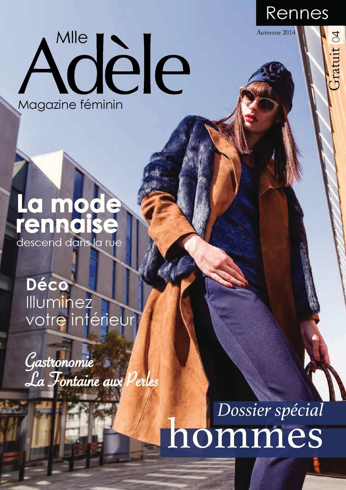 Calaméo - Mlle Adèle Rennes Numéro 4 - Automne 2014 54e0c0173c4