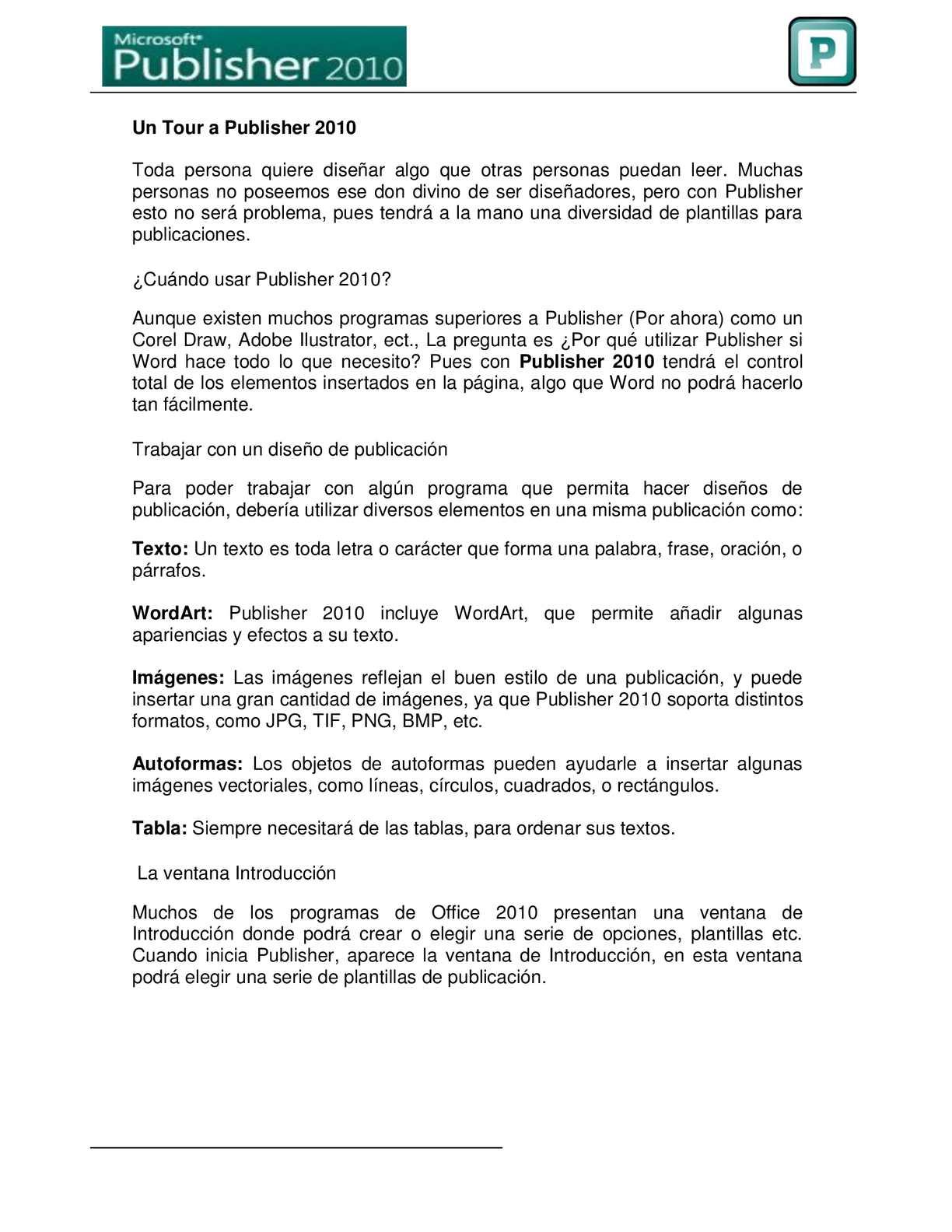 Calaméo Crear Un Folleto Sencillo En Publisher
