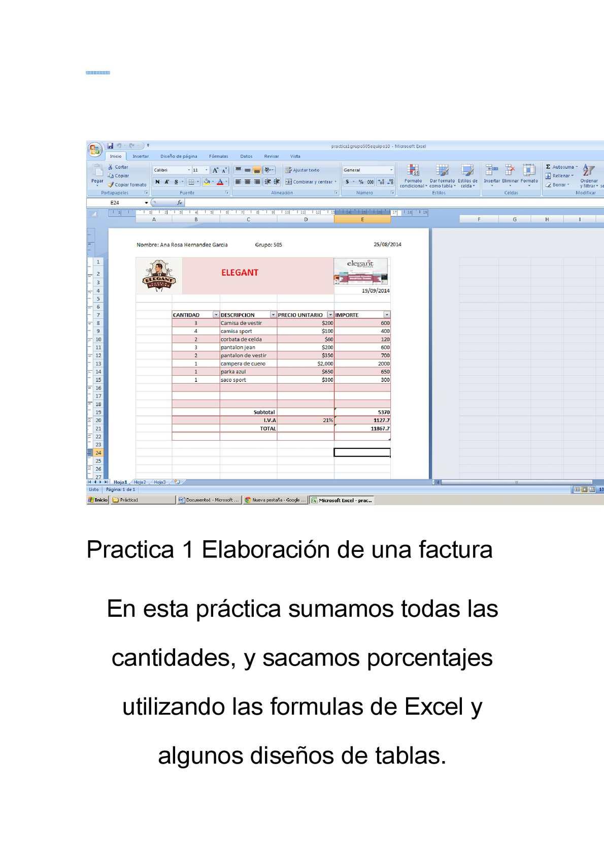 Calaméo   Conclusiones de las prácticas de Excel