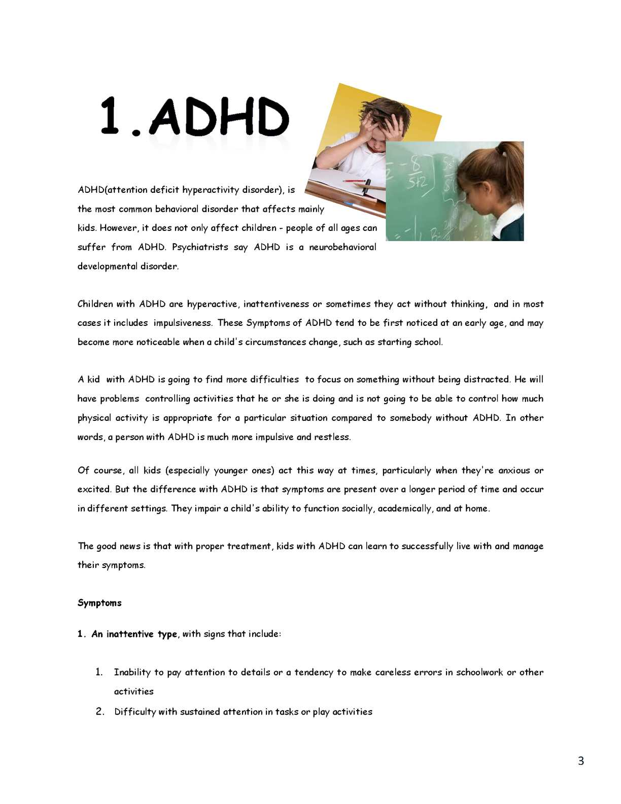 Not All Attention Problems Are Adhd >> Calameo Child Education Readings