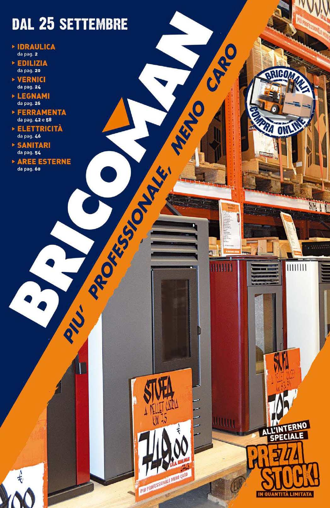 Calam o catalogo bricoman dal 25 settembre for Bricoman elmas catalogo 2017