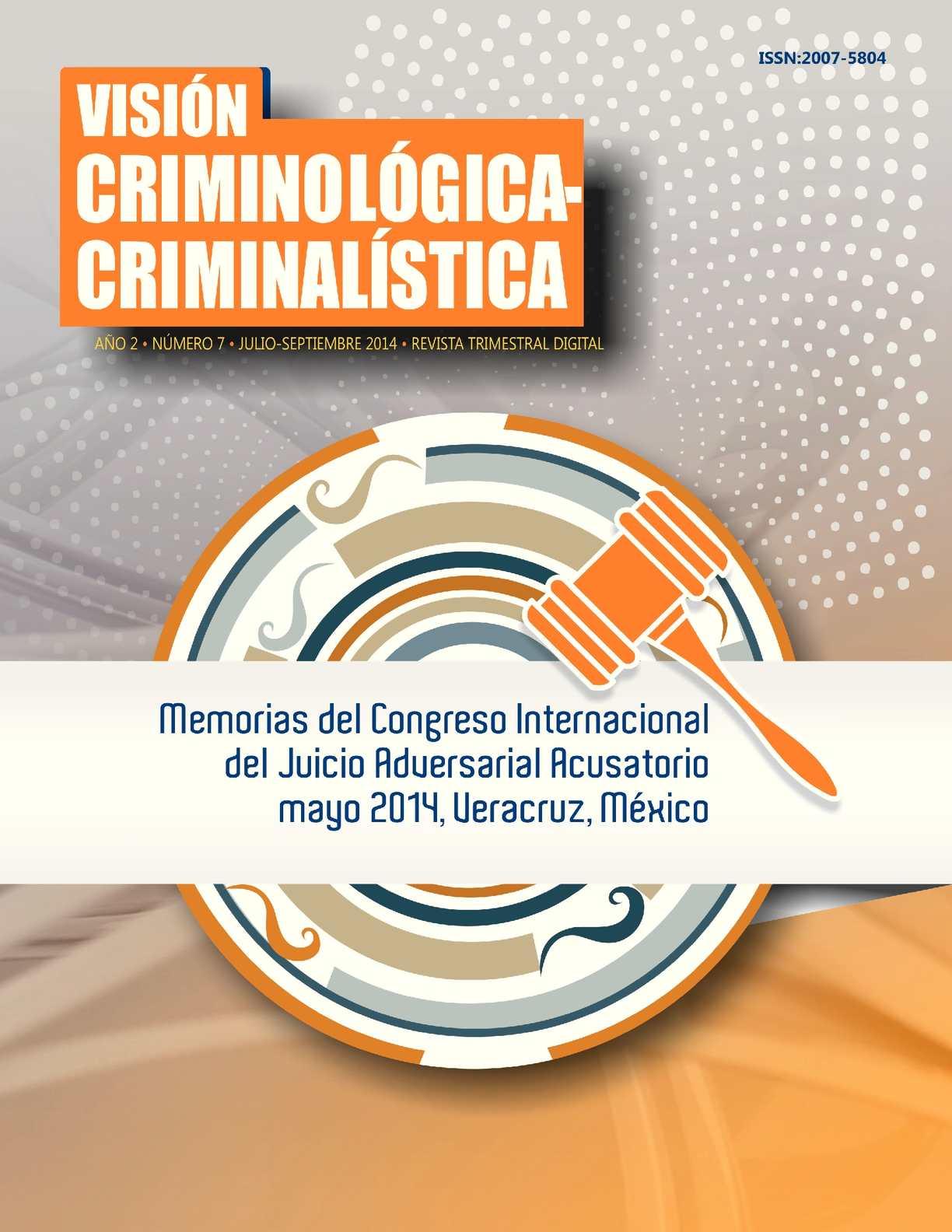 Calaméo - Memorias del Congreso Internacional del Juicio Adversarial  Acusatorio 6d7048cfd5b