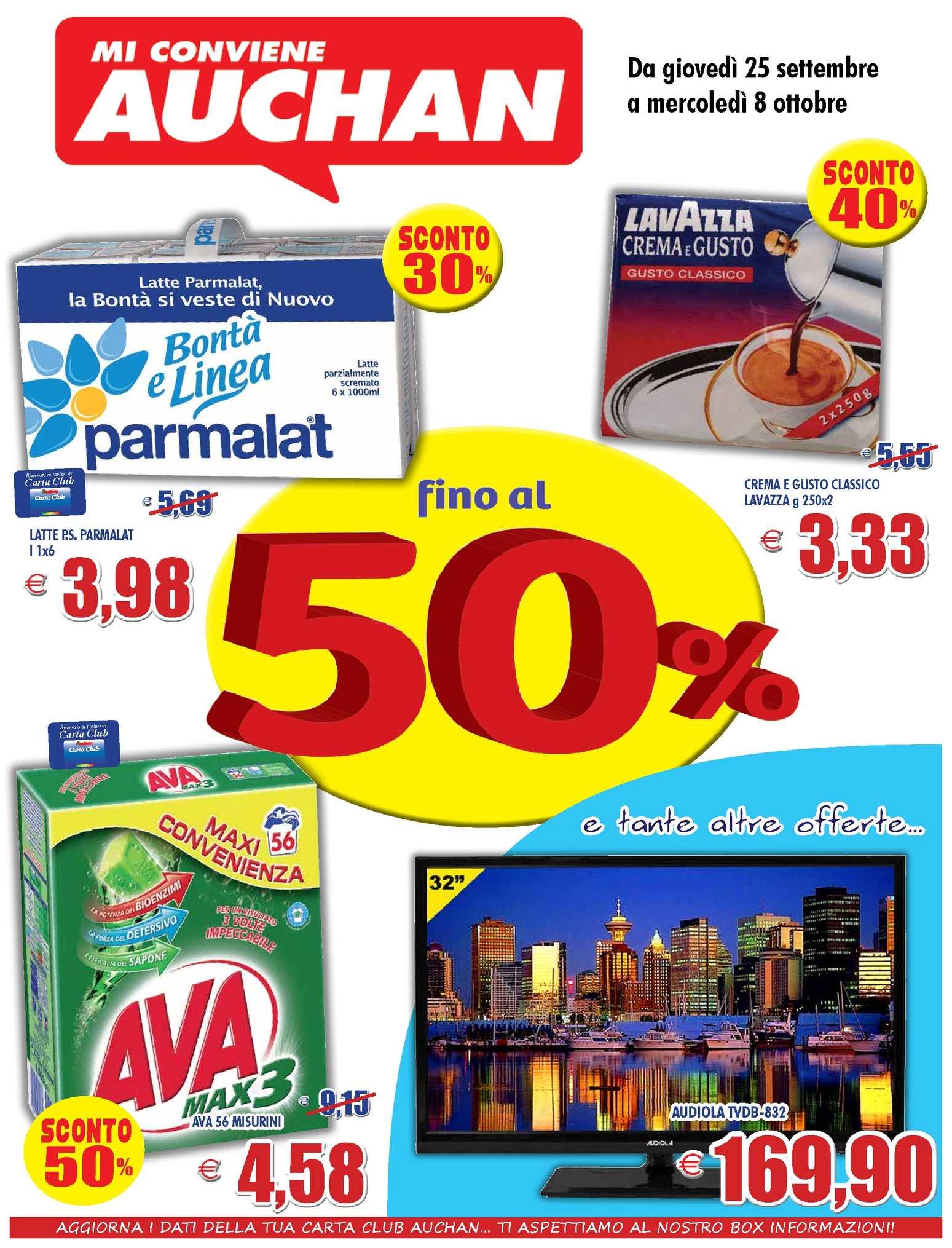 Divano Letto Auchan.Calameo Volantino Auchan Calabria 25settembre 5ottobre