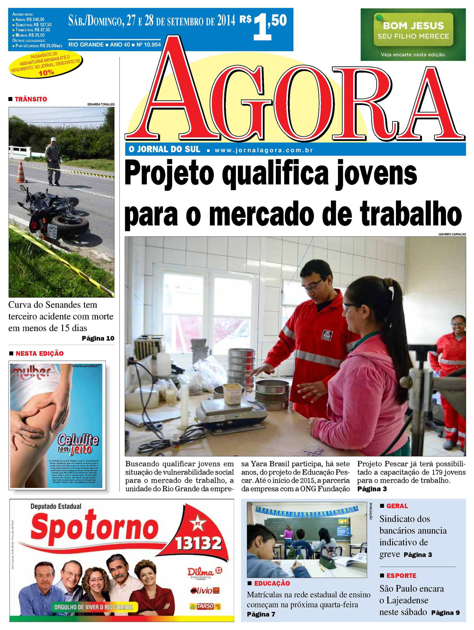 Calaméo - Jornal Agora - Edição 10954 - 27 e 28 de setembro de 2014 0b2be81d1c