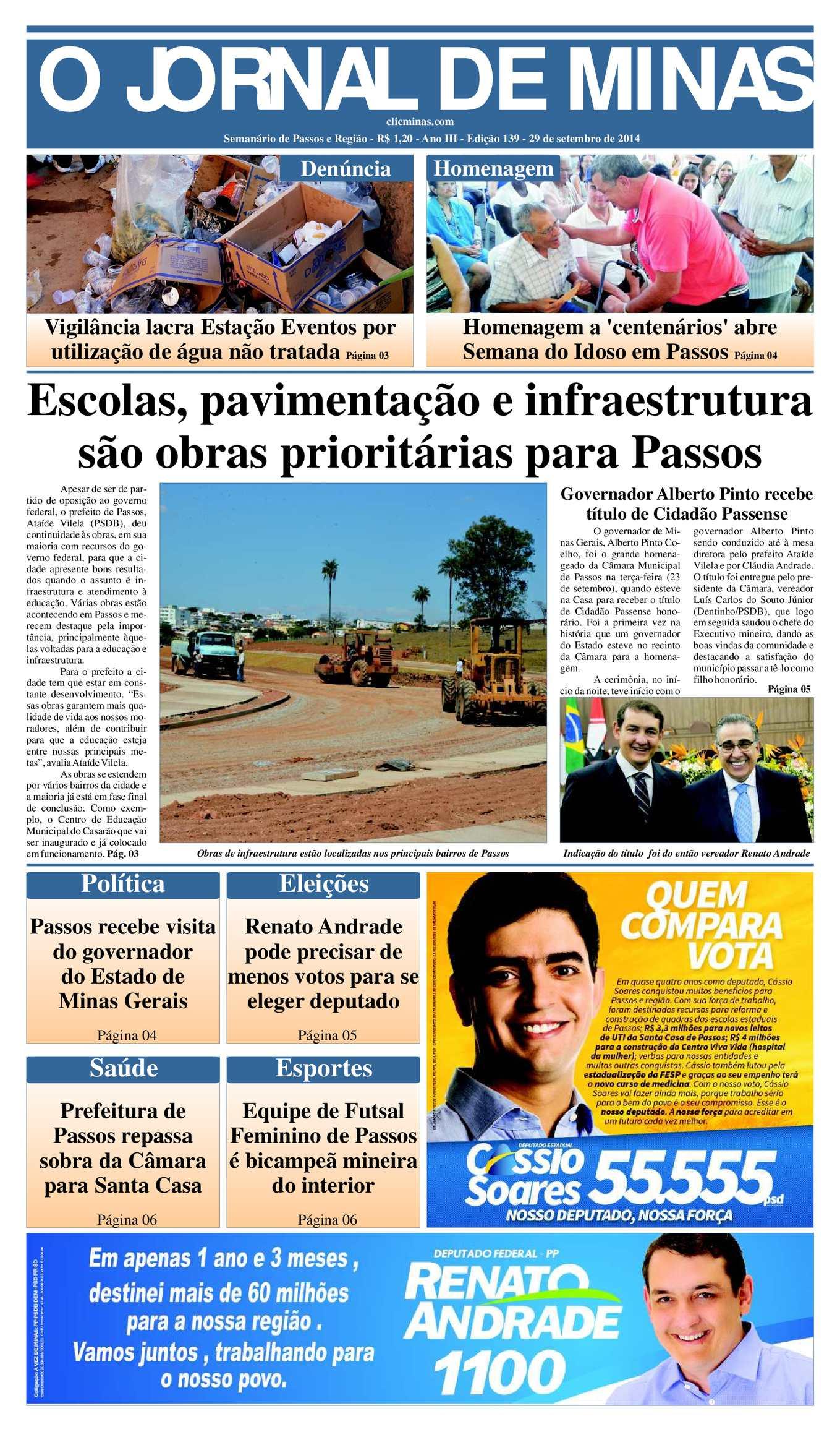 16af341072 Calaméo - O Jornal de Minas Edição 139 de 29 de setembro de 2014
