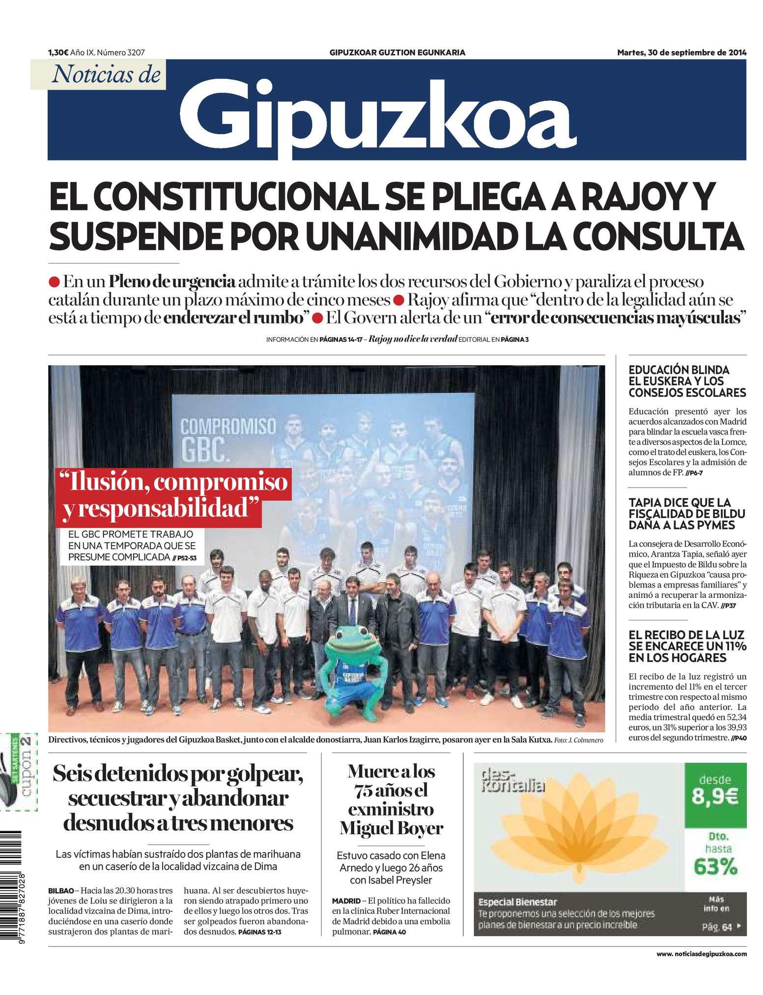 102c614b18 Calaméo - Noticias de Gipuzkoa 20140930