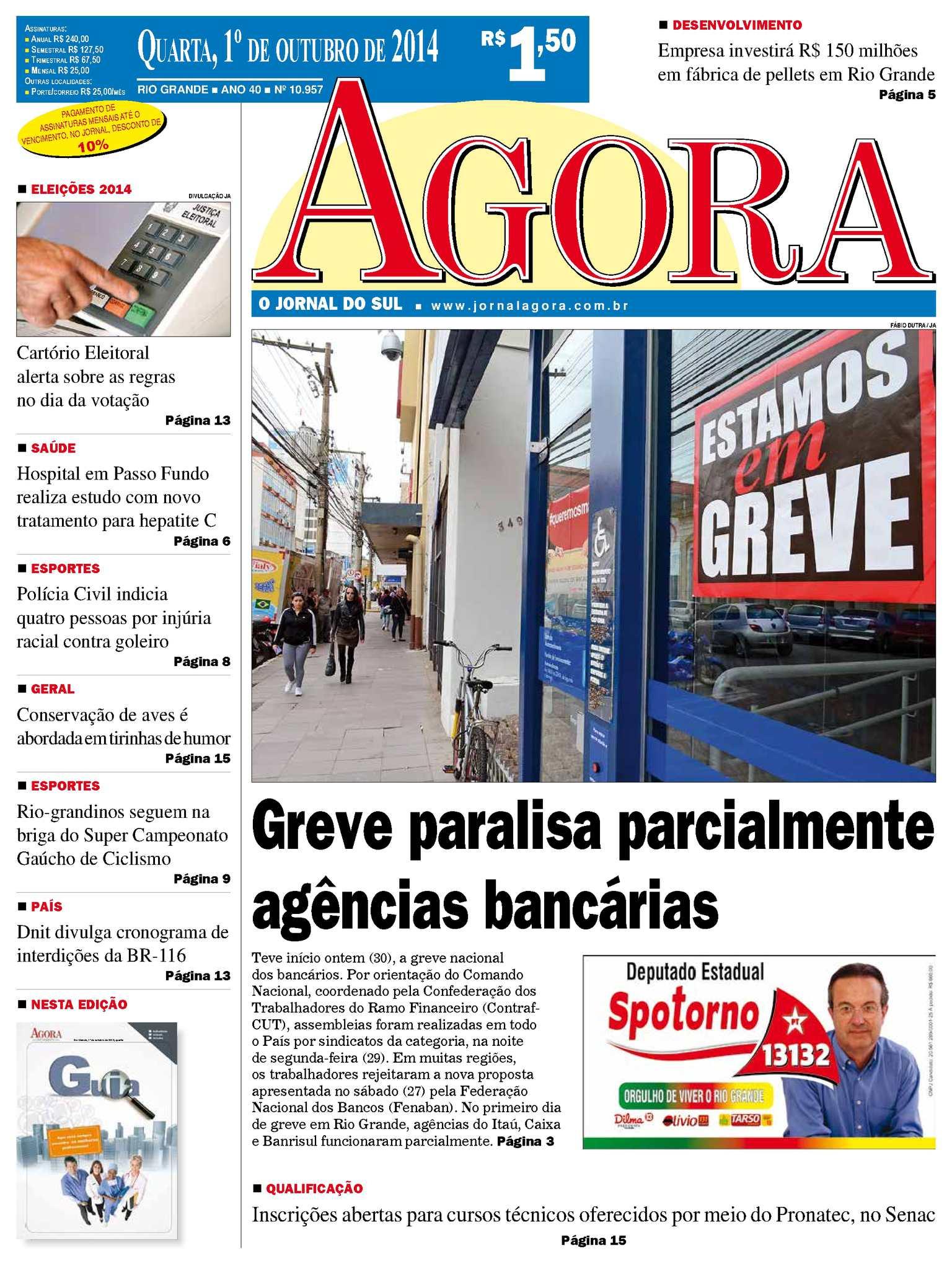 Calaméo - Jornal Agora - 10957 - 1º de outubro de 2014 db37415e072
