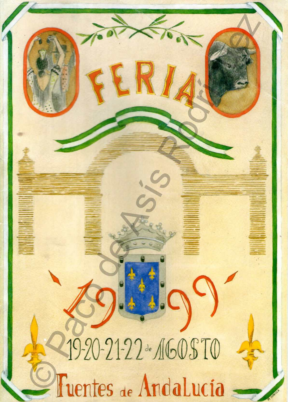 1999. REVISTA DE LA FERIA DE FUENTES DE ANDALUCÍA