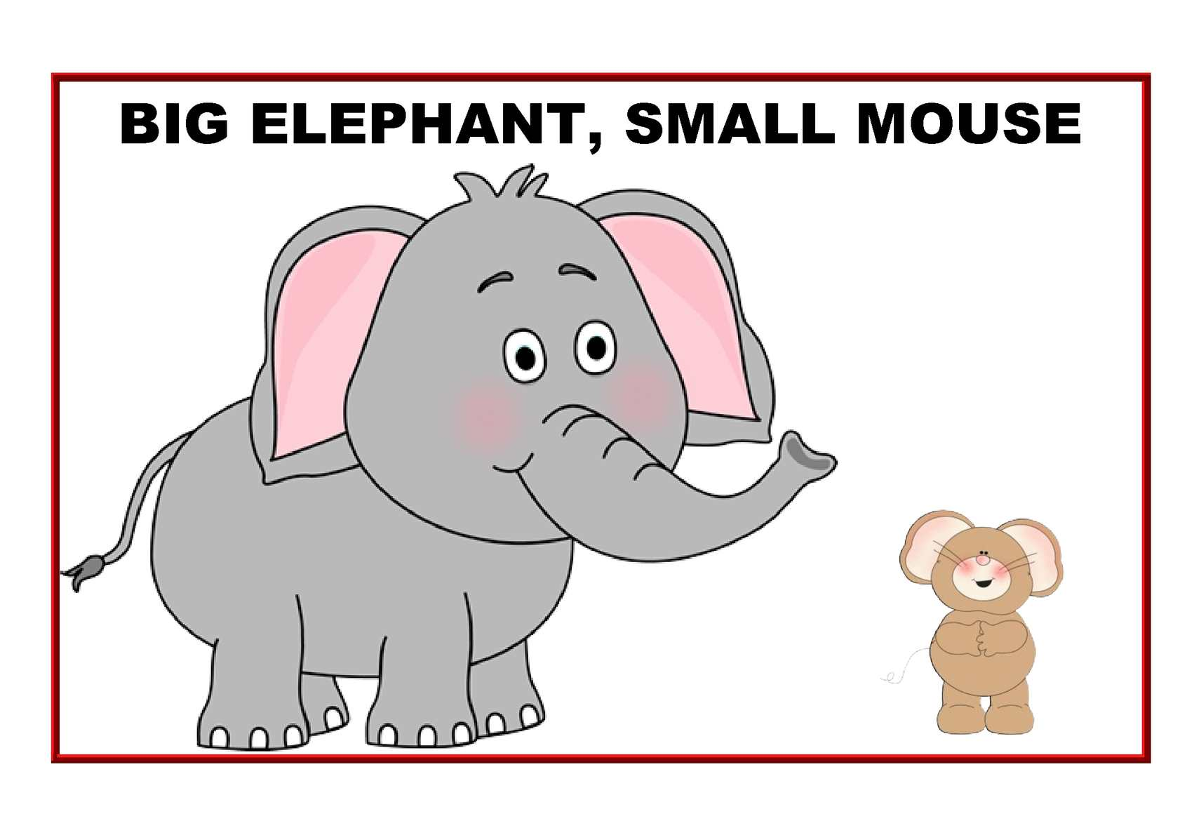 Calaméo - Big Elephant, small Mouse (Colour)