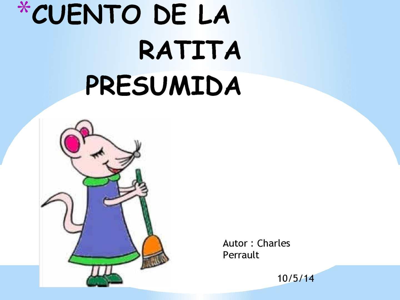 Calaméo Cuento De La Ratita Presumida