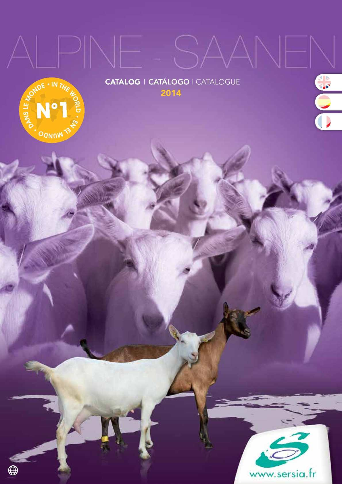 CATALOGUE GOAT WORLD EVOLUTION INTERNATIONAL 2014