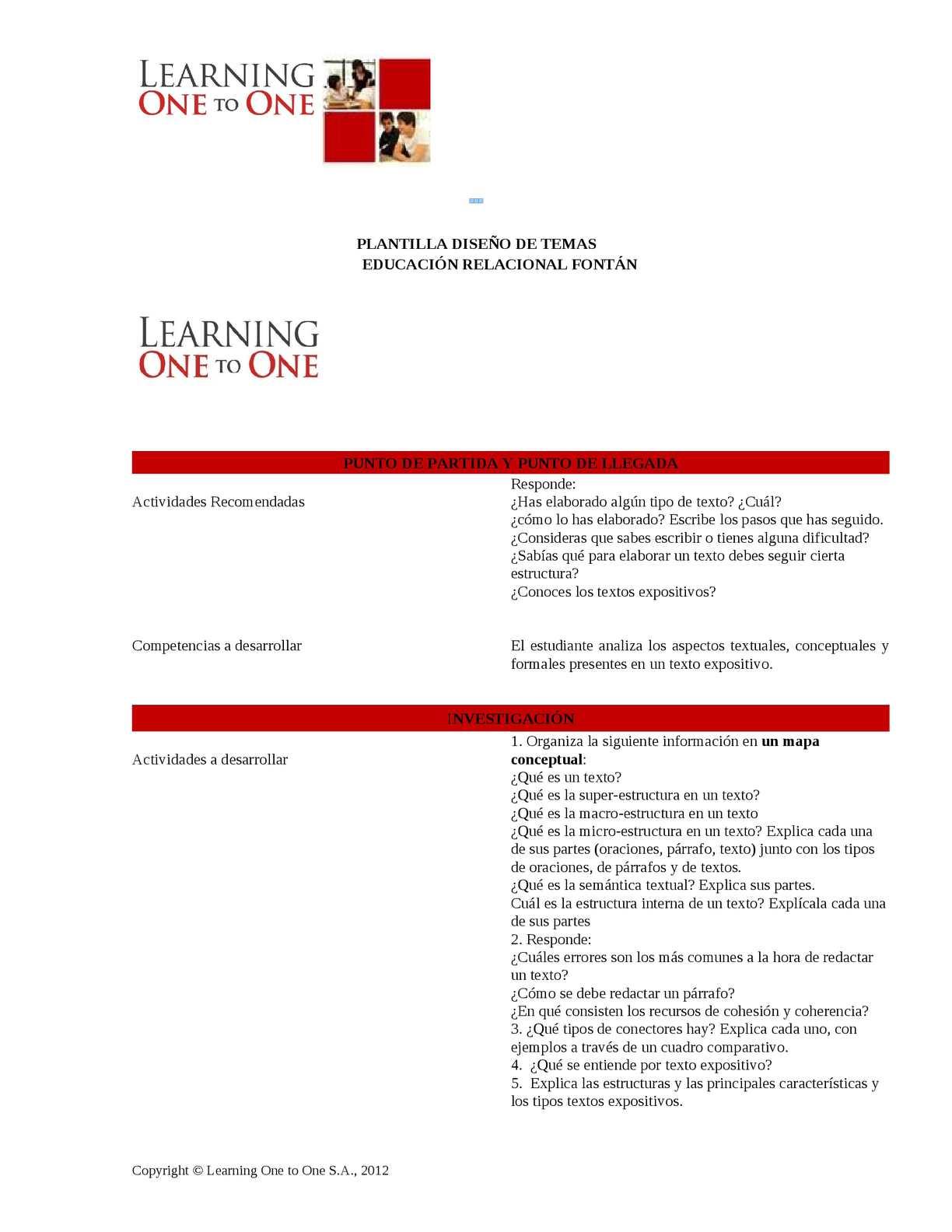 Calaméo Tema Macroestructura Y Microestructura Y Texto