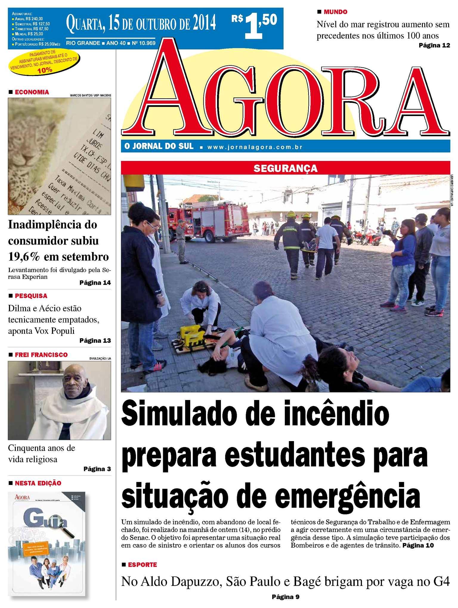 35055841c Calaméo - Jornal Agora - Edição 10969 - 15 de outubro de 2014