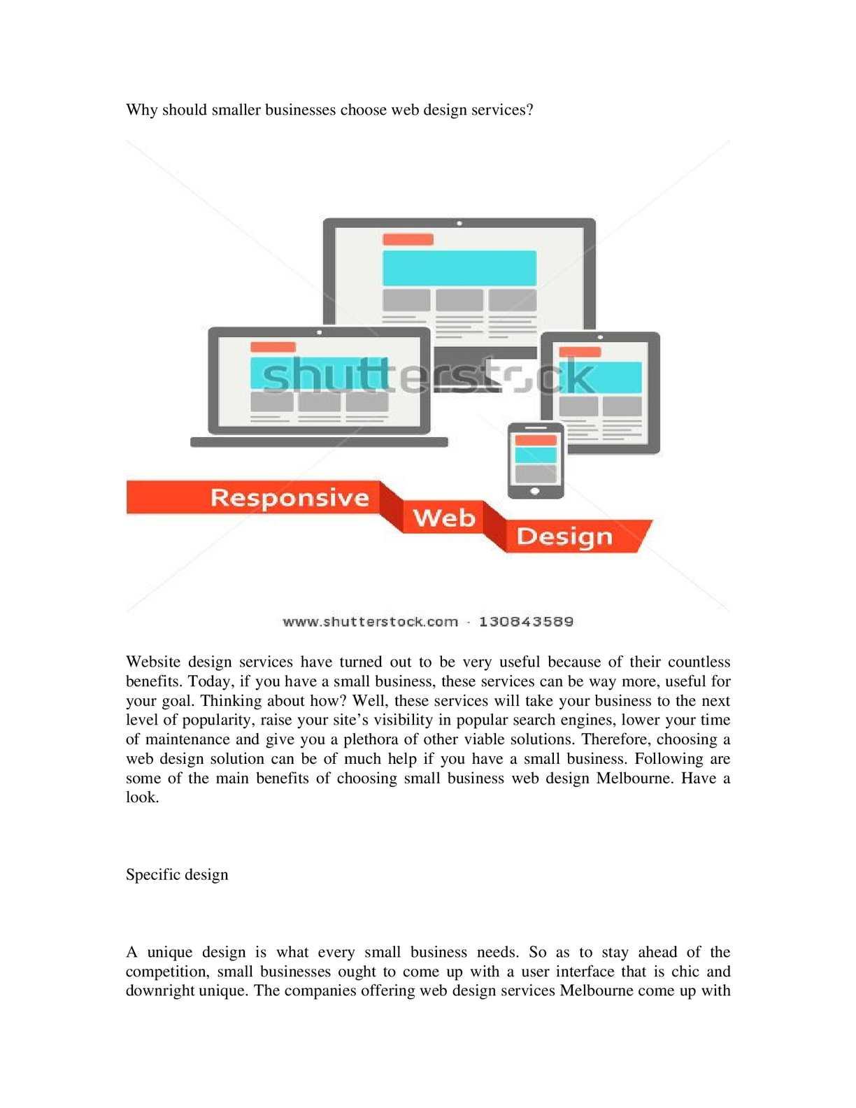 Calaméo - Web Design Company In Melbourne