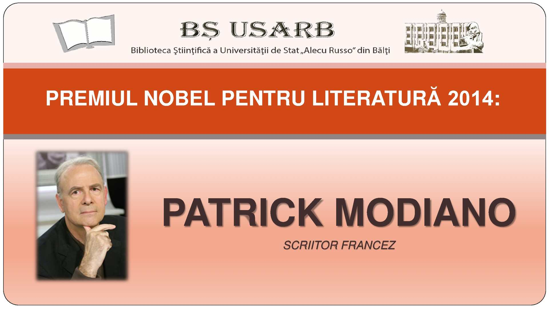 Calaméo Premiul Nobel Pentru Literatură 2014 Patrick Modiano Scriitor Francez