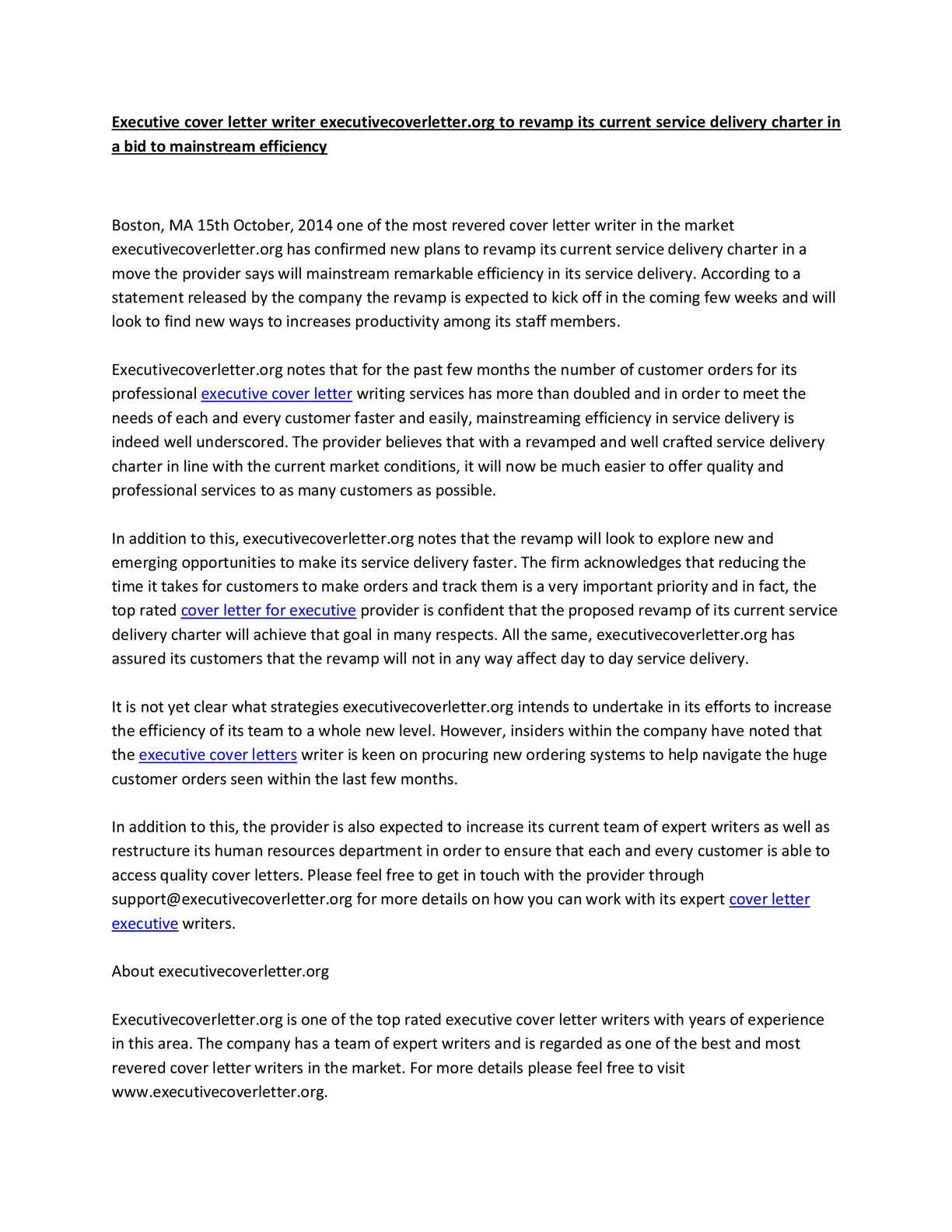 Calaméo - Executive cover letter writer executivecoverletter ...