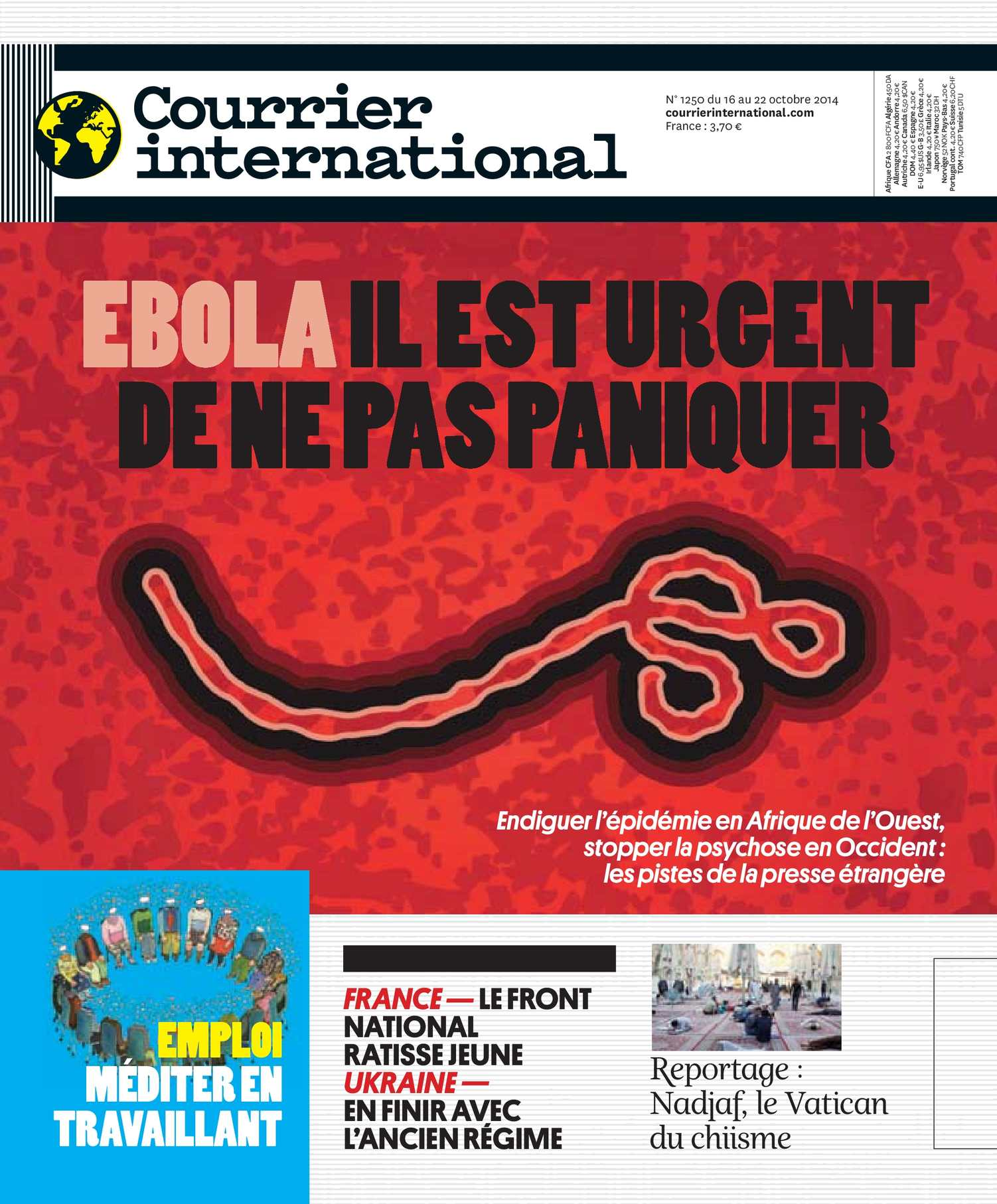 Calaméo Courrier International Du 16 Octobre 2014