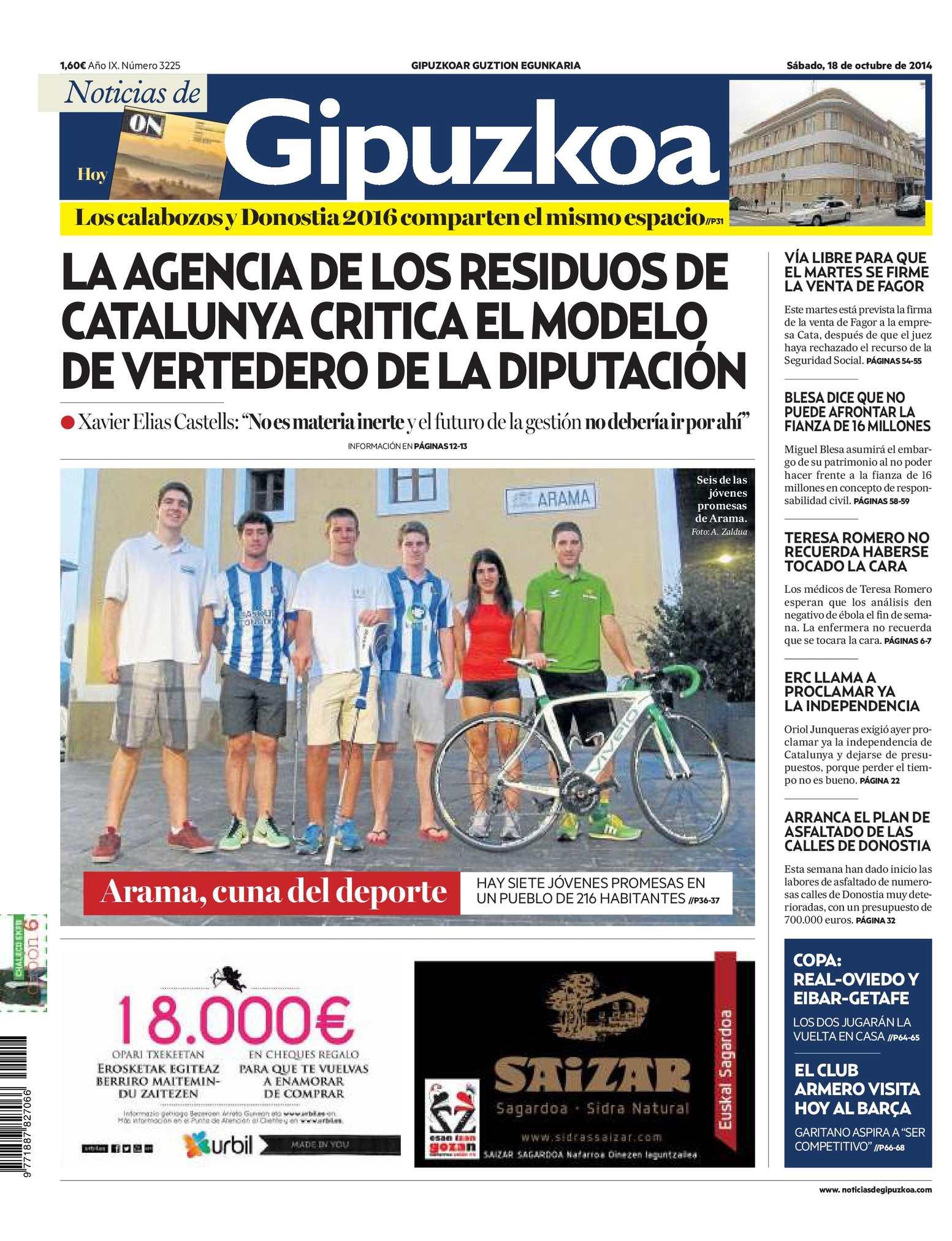 a11130faabff2 Calaméo - Noticias de Gipuzkoa 20141018