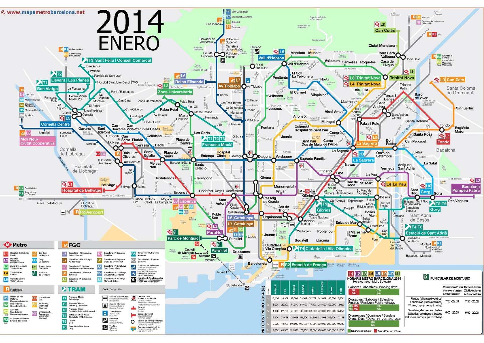 Calameo Mapa Metro Barcelona