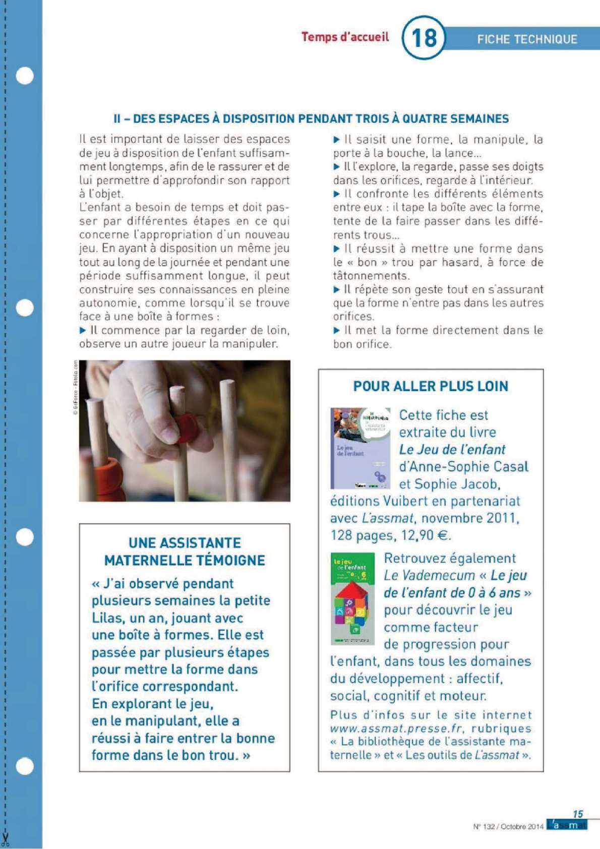 Calameo A Savoir Articles Sur L Espace De Jeu Des Enfants