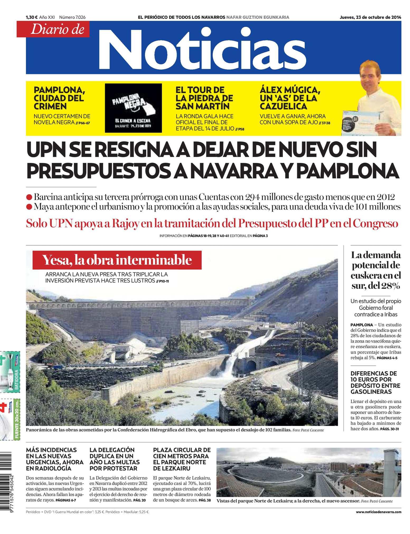 new concept 3a7f4 42cbb Calaméo - Diario de Noticias 20141023