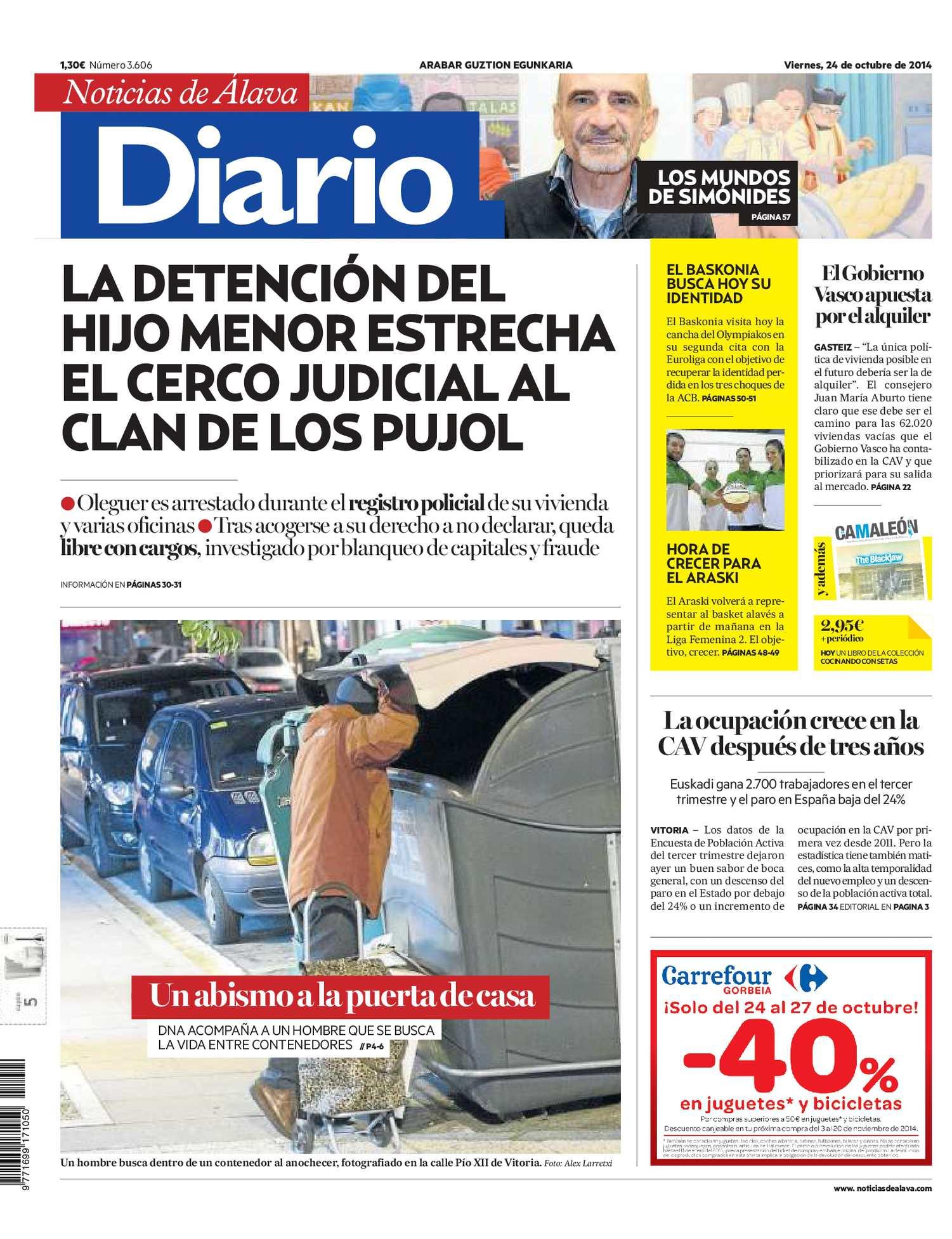 pretty nice 60424 a69af Calaméo - Diario de Noticias de Álava 20141024