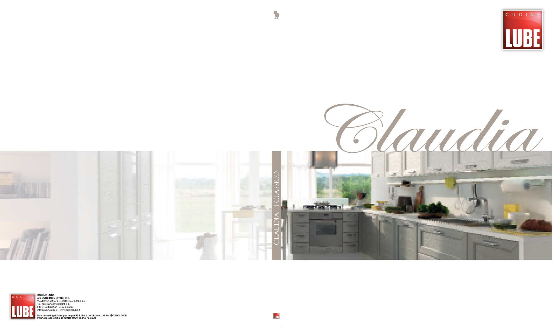 Calaméo - Catalogo cucina LUBE modello Claudia