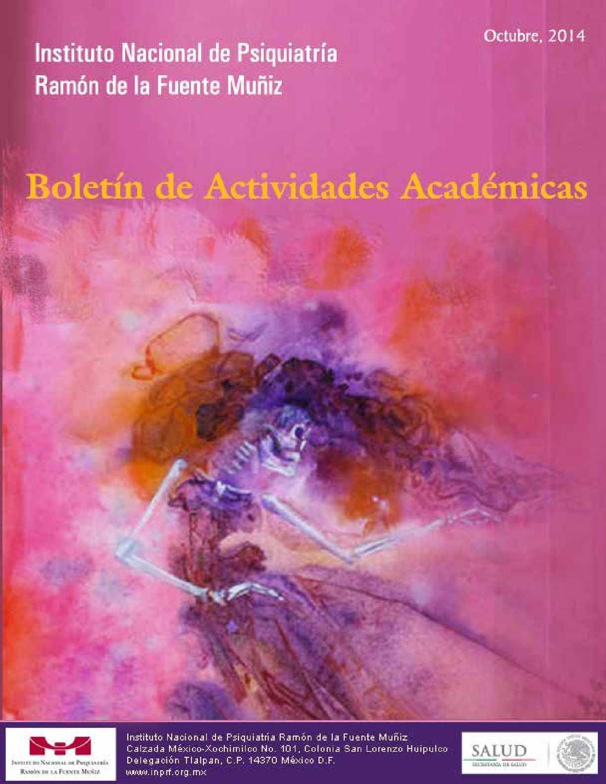 Calaméo Boletín De Actividades Académicas Inprfm 29 De